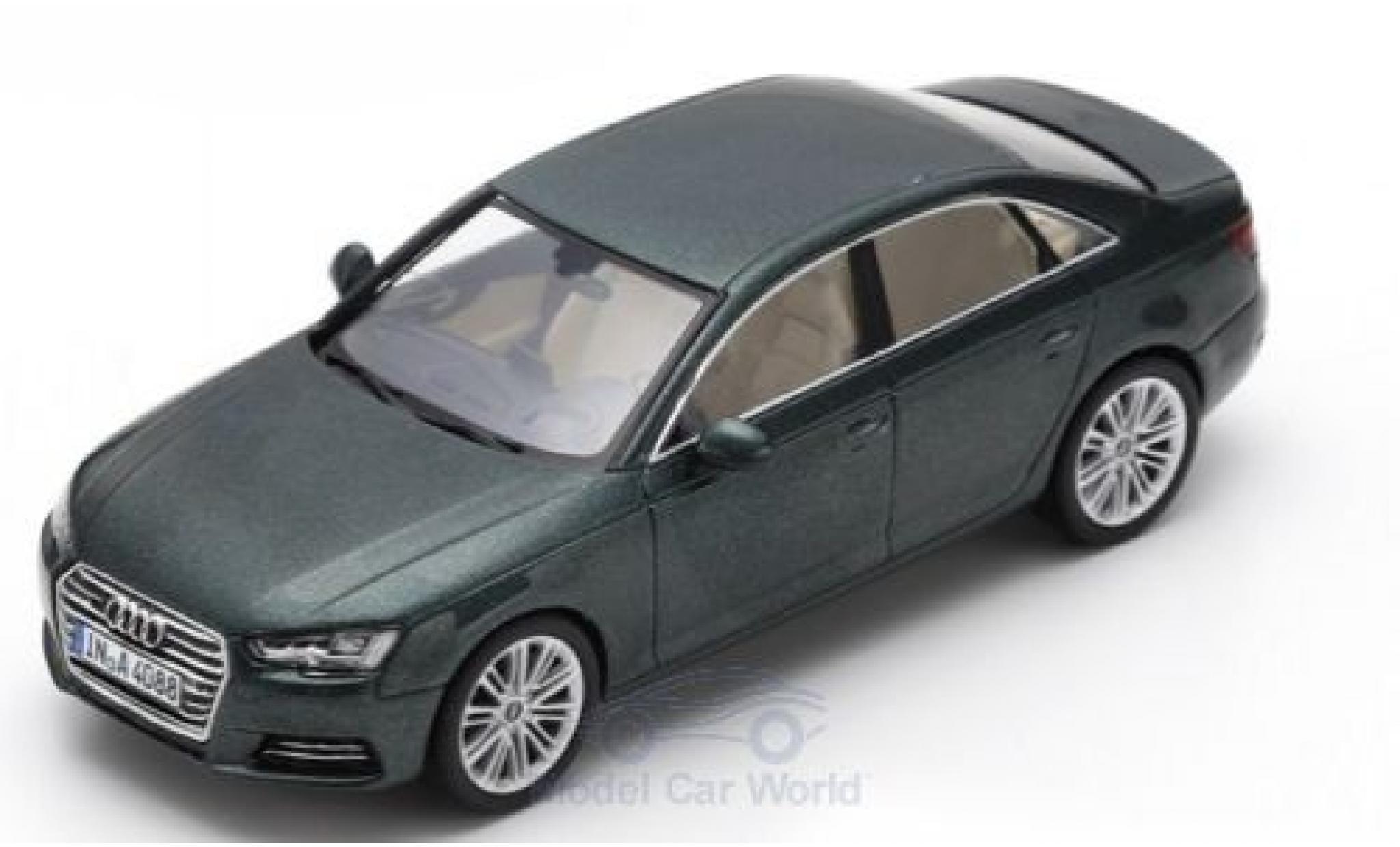 Audi A4 1/43 Spark metallic green 2016
