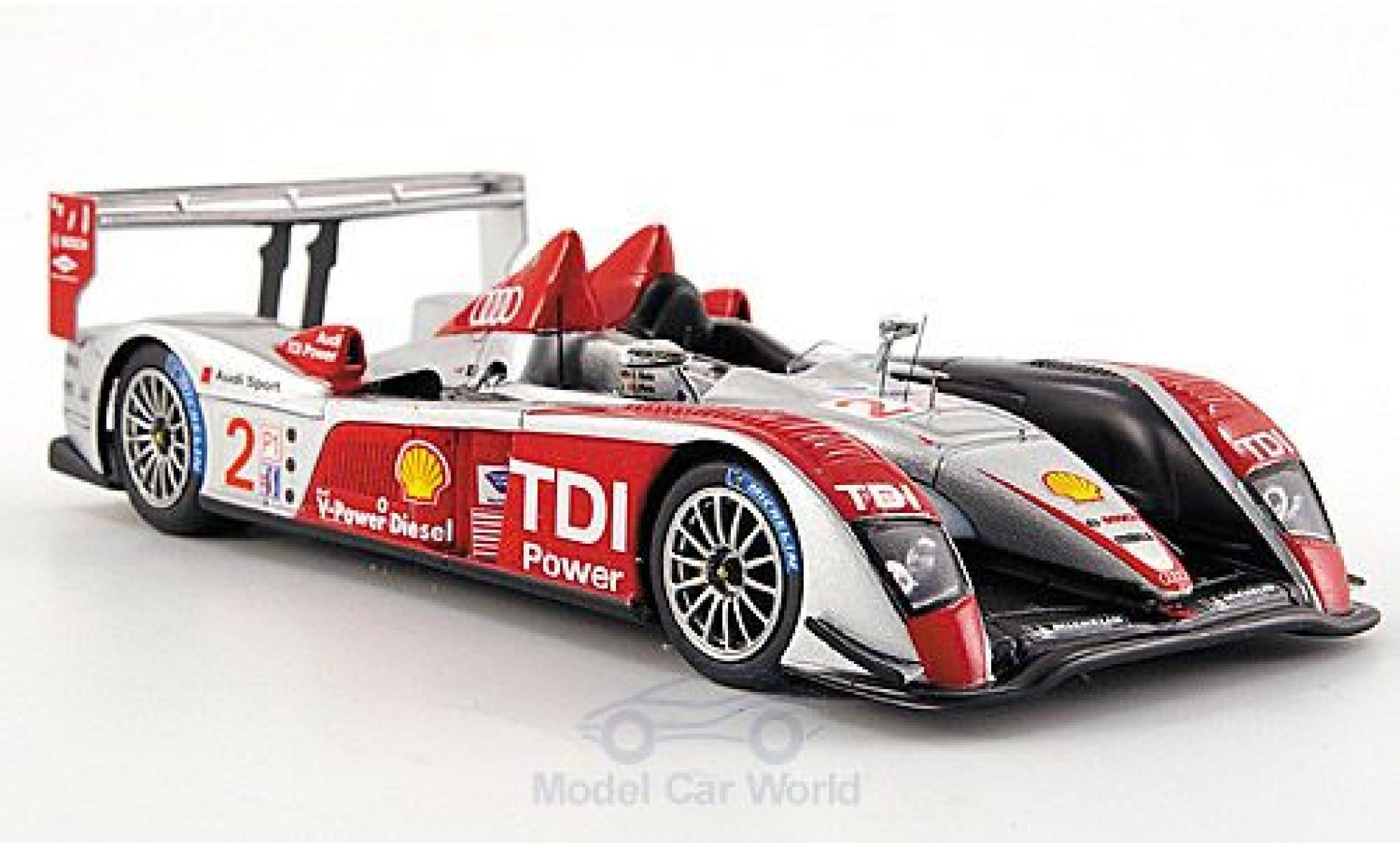 Audi R10 2007 1/43 Spark TDI No.2 12h Sebring F.Biela/E.Pirro/M.Werner