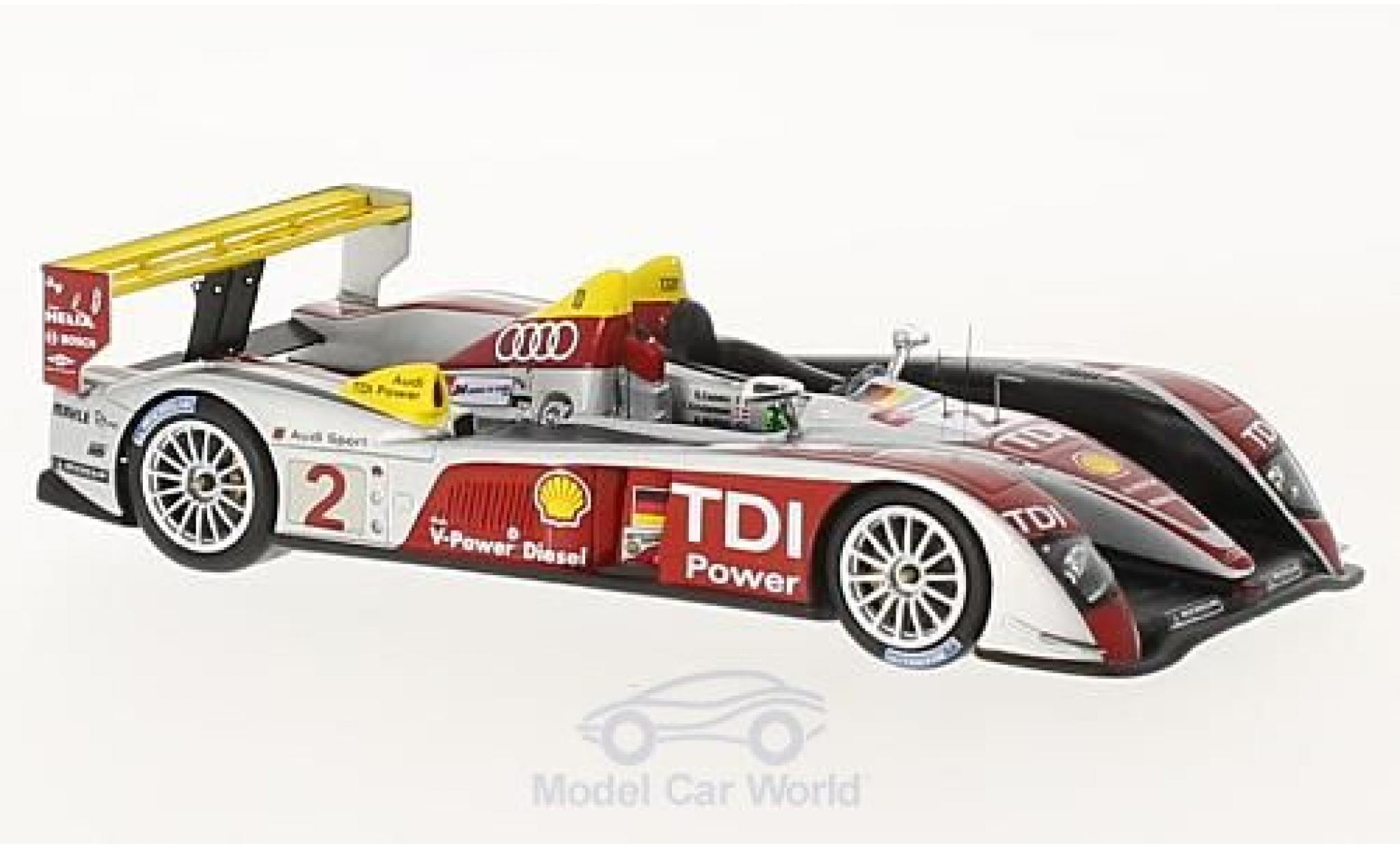 Audi R10 2008 1/43 Spark TDI No.2 Sport North America 24h Le Mans 10 Years A.McNish/R.Capello/T.Kristensen