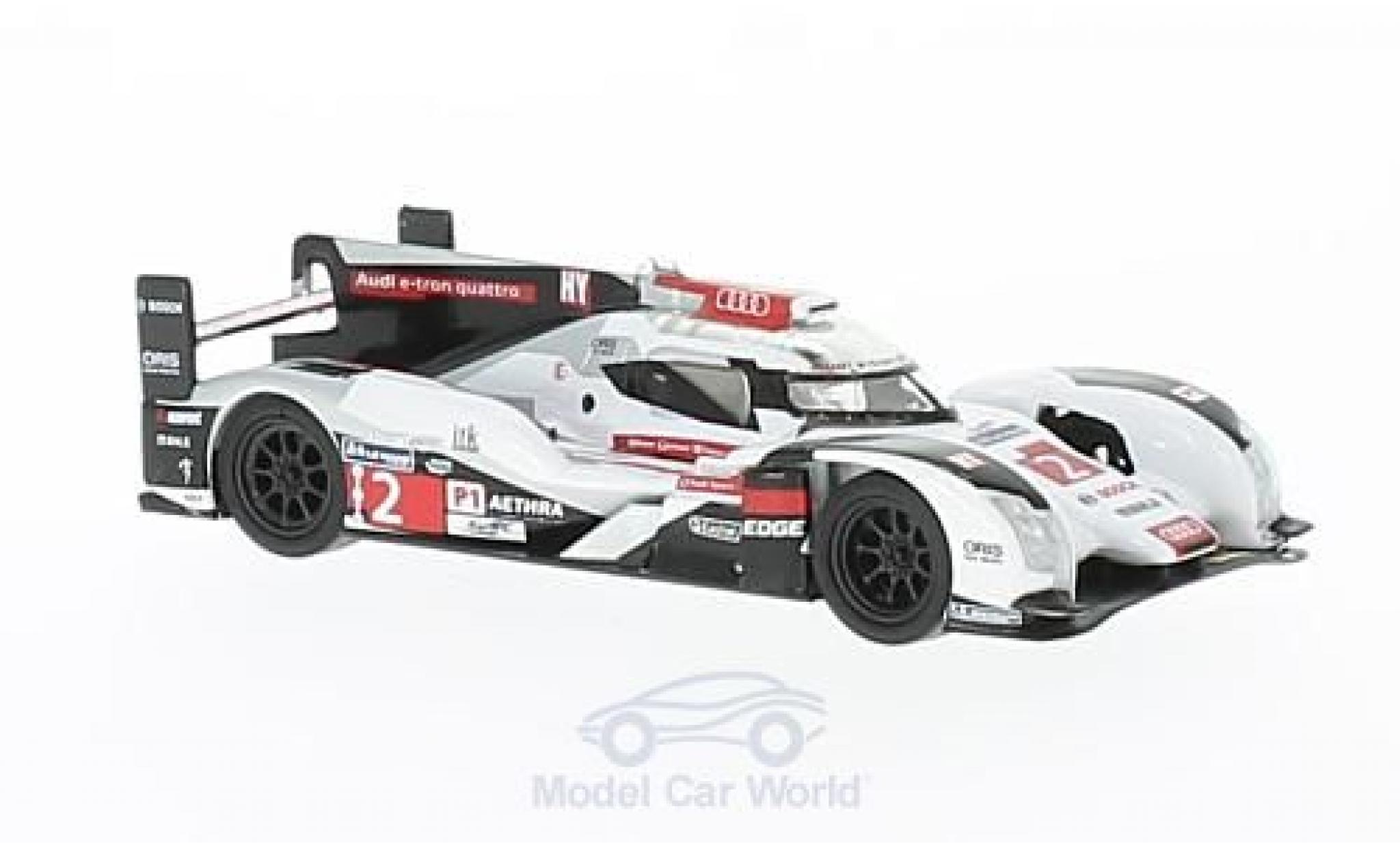 Audi R18 1/64 Spark No.2 24h Le Mans 2014 A.Lotterer/M.Fässler/B.Treluyer