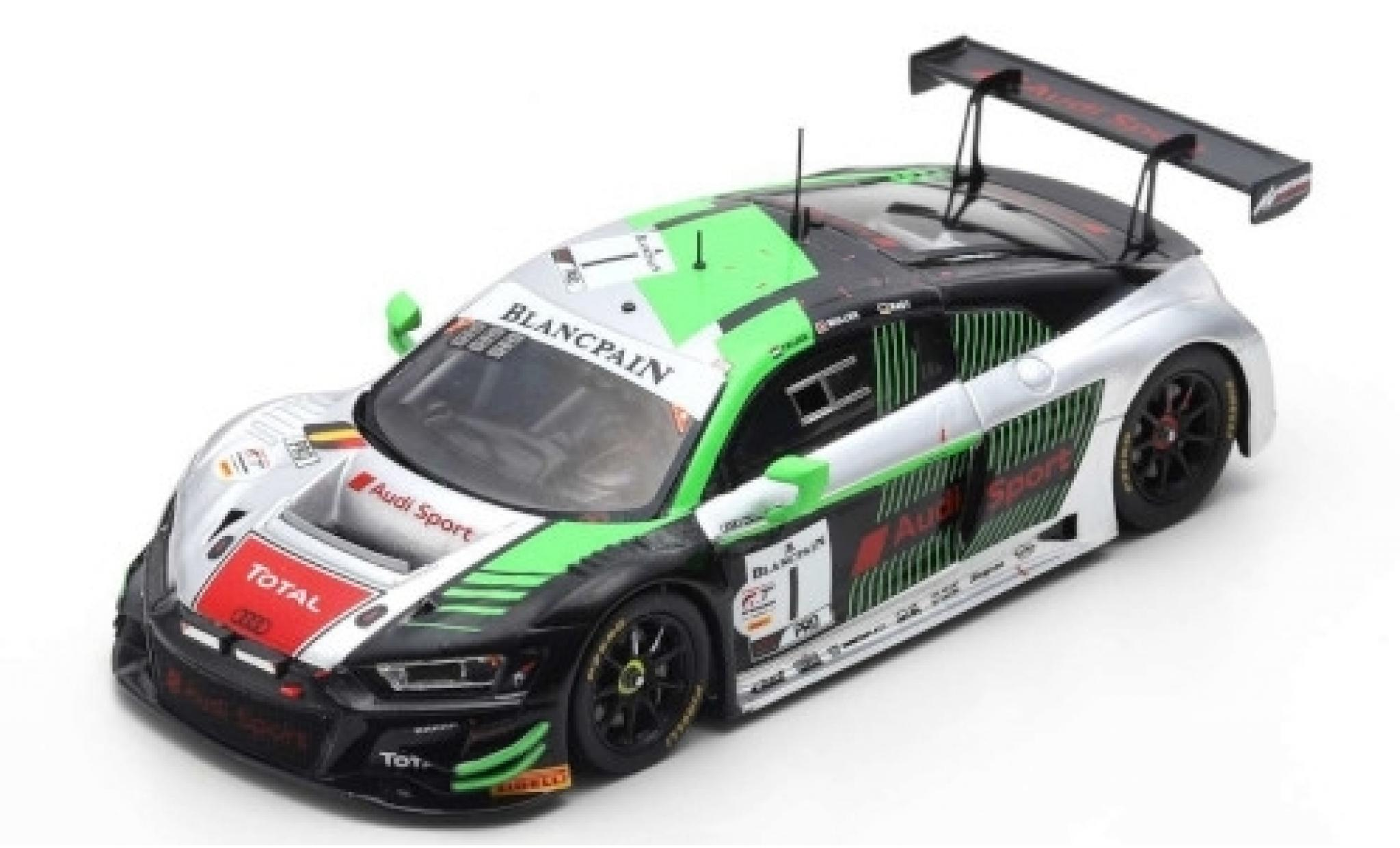 Audi R8 1/43 Spark LMS GT3 No.1 Sport Team WRT 24h Spa 2019 R.Frijns/N.Müller/R.Rast