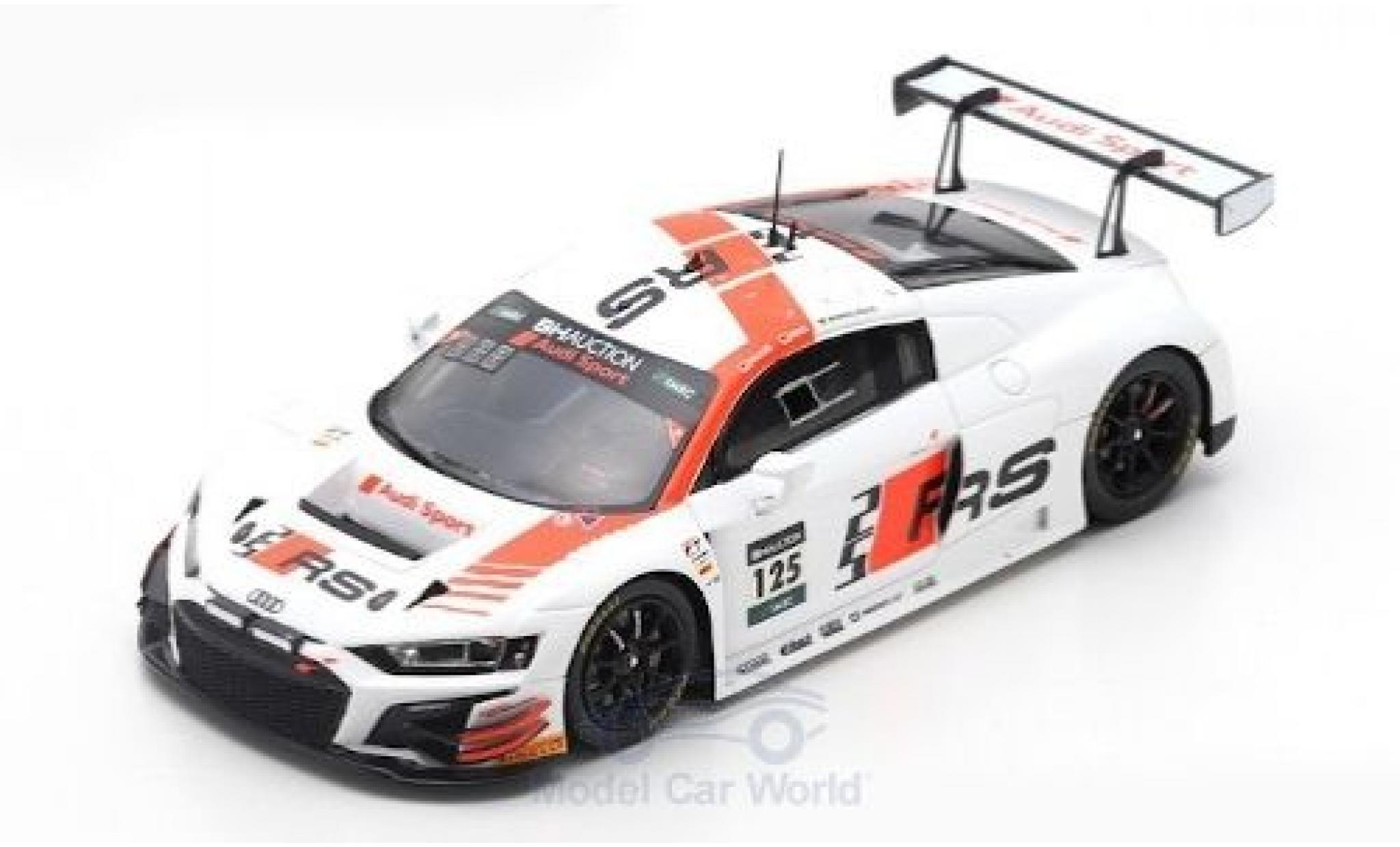 Audi R8 1/43 Spark LMS GT3 No.125 Sport Team Absolute Racing 10H Suzuka 2019 M.Winkelhock/C.Haase/C.Mies