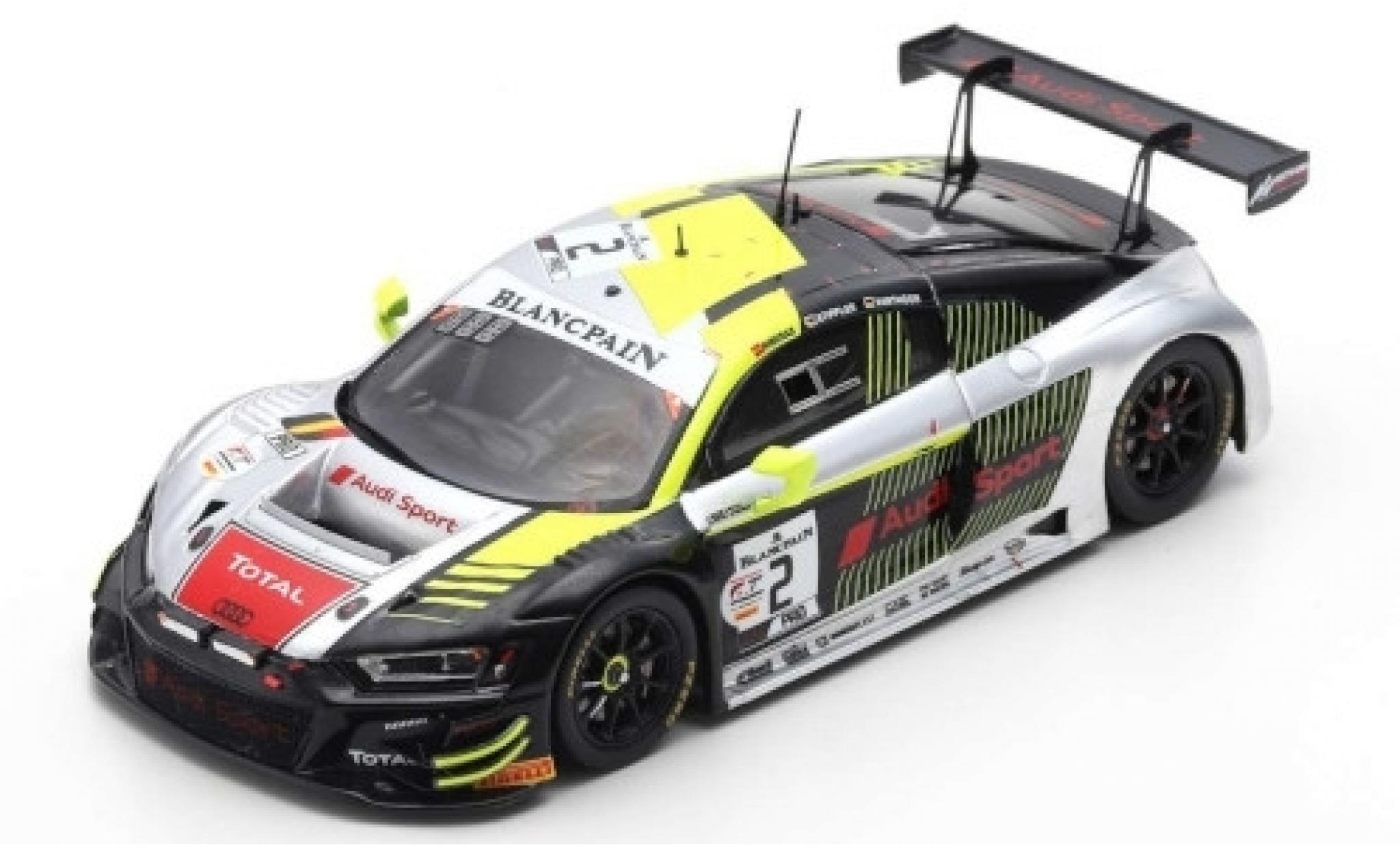 Audi R8 1/43 Spark LMS GT3 No.2 Sport Team WRT 24h Spa 2019 D.Vanthoor/A.Riberas/F.Stippler