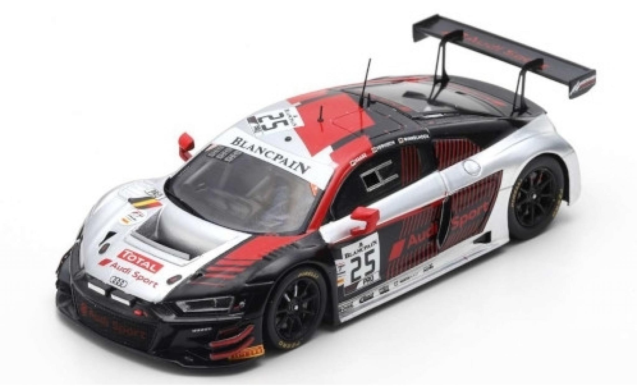 Audi R8 1/43 Spark LMS GT3 No.25 Sport Sainteloc Racing 24h Spa 2019 M.Winkelhock/F.Vervisch/C.Haase