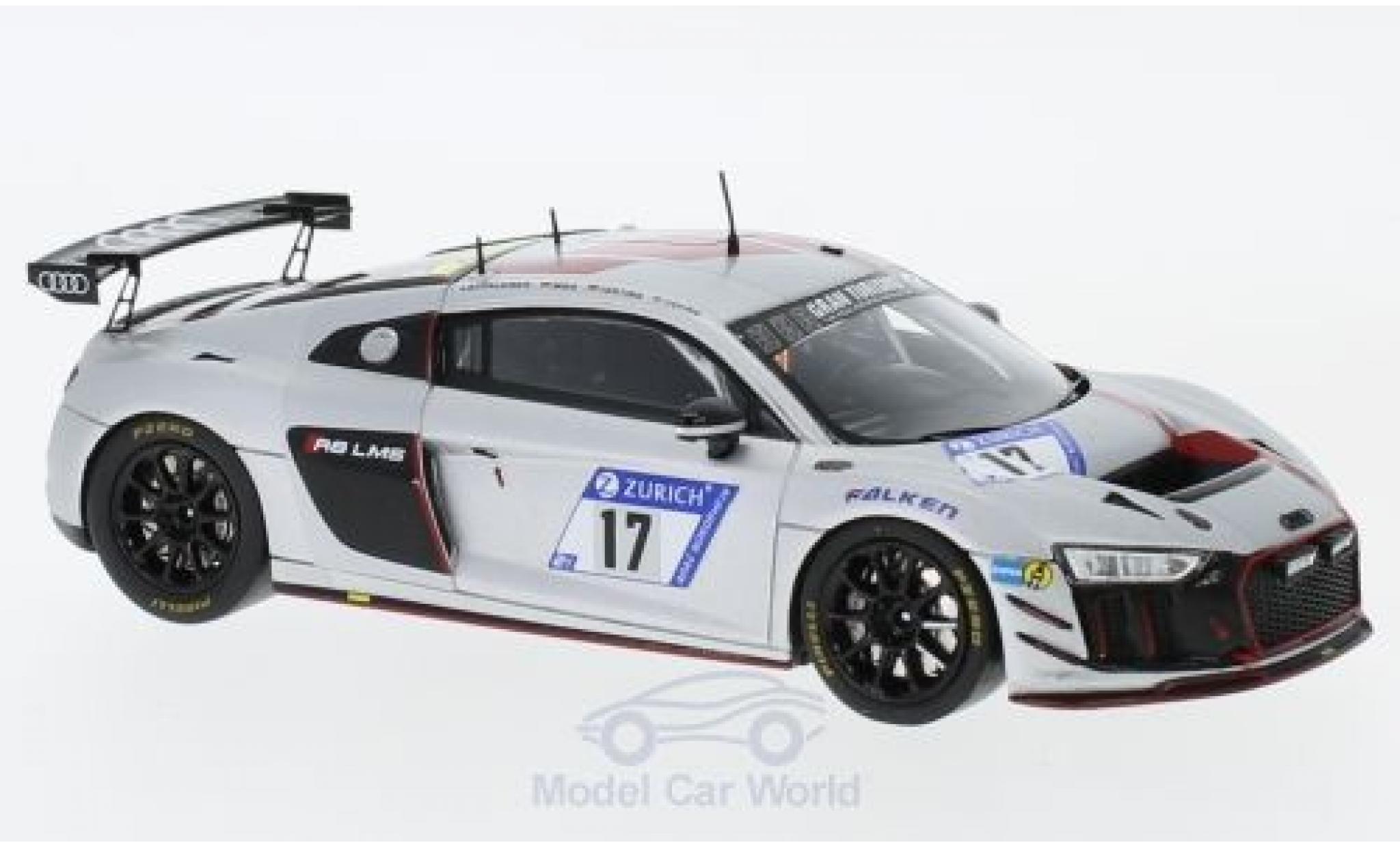 Audi R8 1/43 Spark LMS GT4 No.17 Sport Team Phoenix 24h Nürburgring 2017 J.Lappalainen/A.Mies/P.Terting/A.Yoong