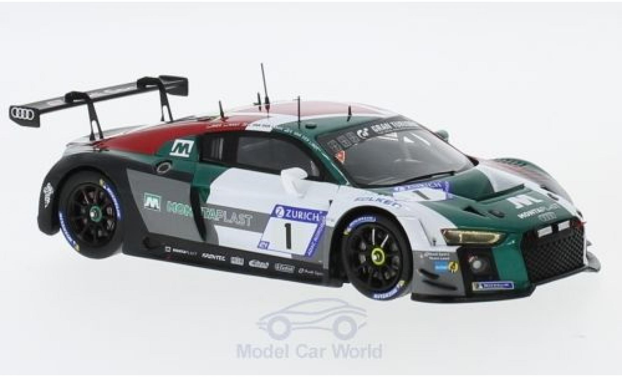 Audi R8 1/43 Spark LMS No.1 Sport Team Land 24h Nürburgring 2018 C.Mies/K.van der Linde/S.van der Linde/R.Rast