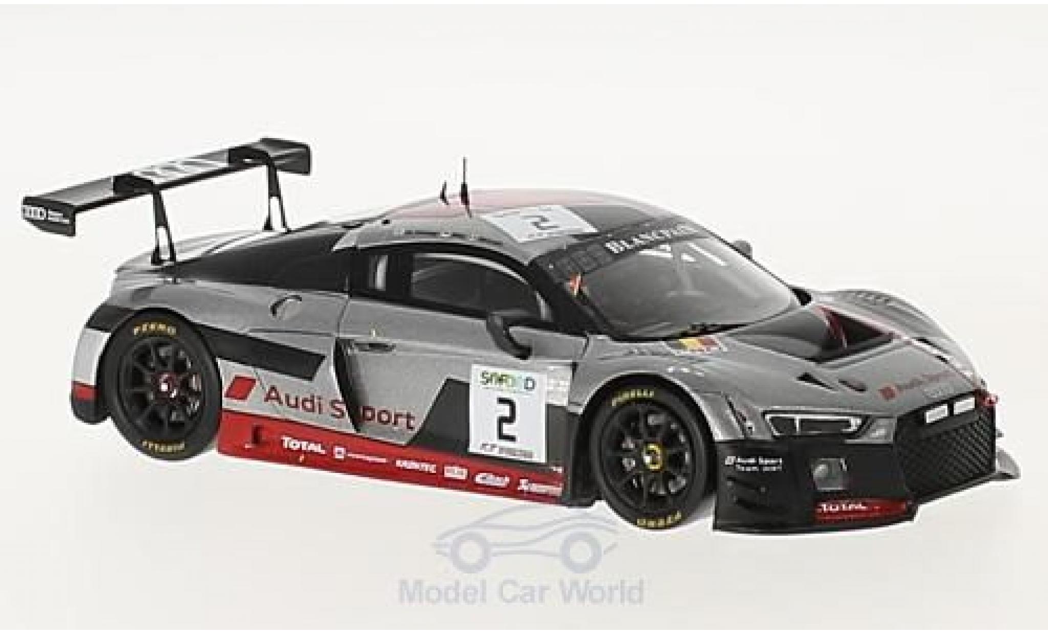 Audi R8 1/43 Spark LMS No.2 Sport Team WRT 24h Spa 2017 C.de Phillippi/C.Mies/F.Vervisch
