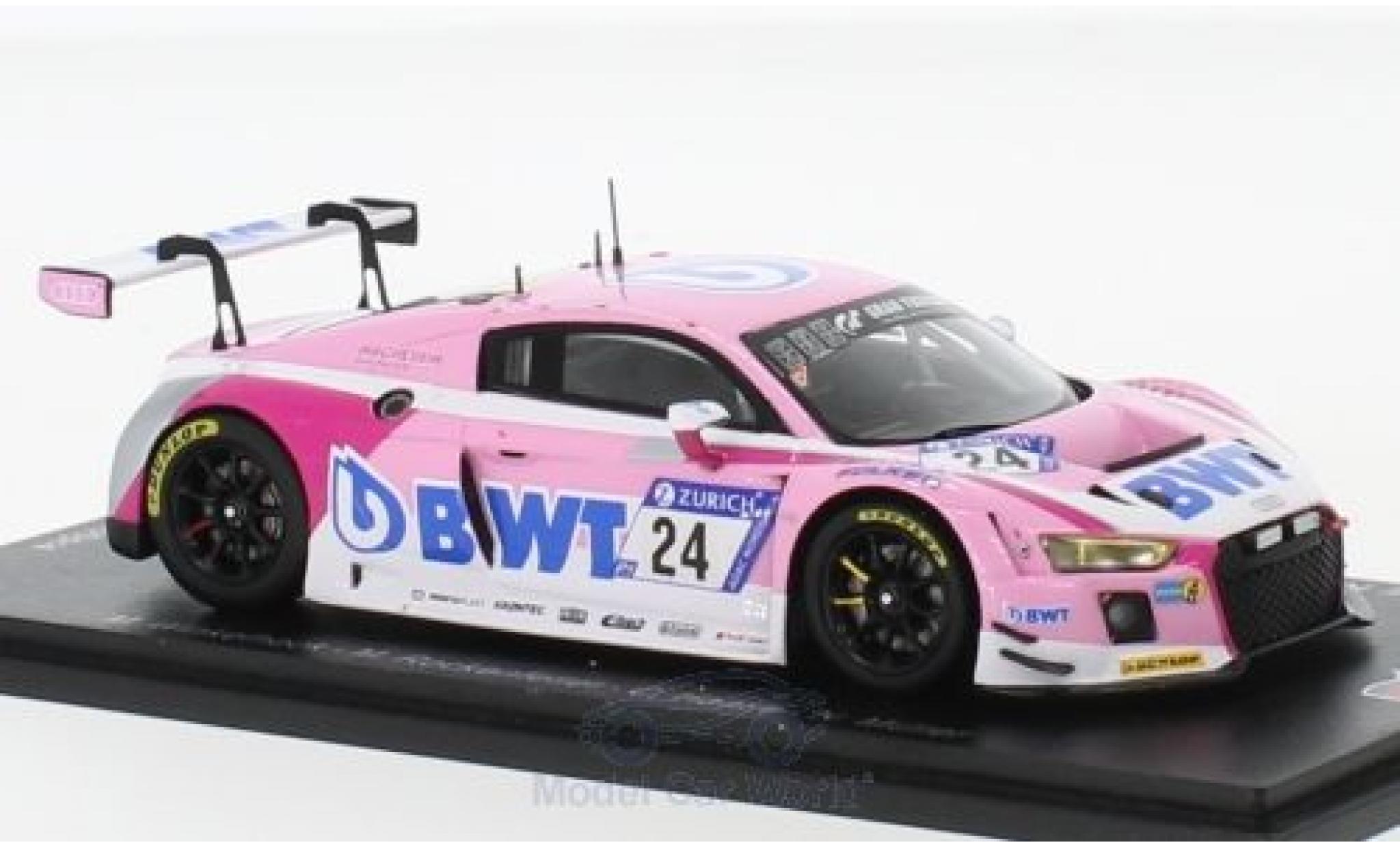 Audi R8 1/18 Spark LMS No.24 Sport Team BWT 24h Nürburgring 2018 M.Winkelhock/M.Rockenfeller/C.Haase/N.Müller