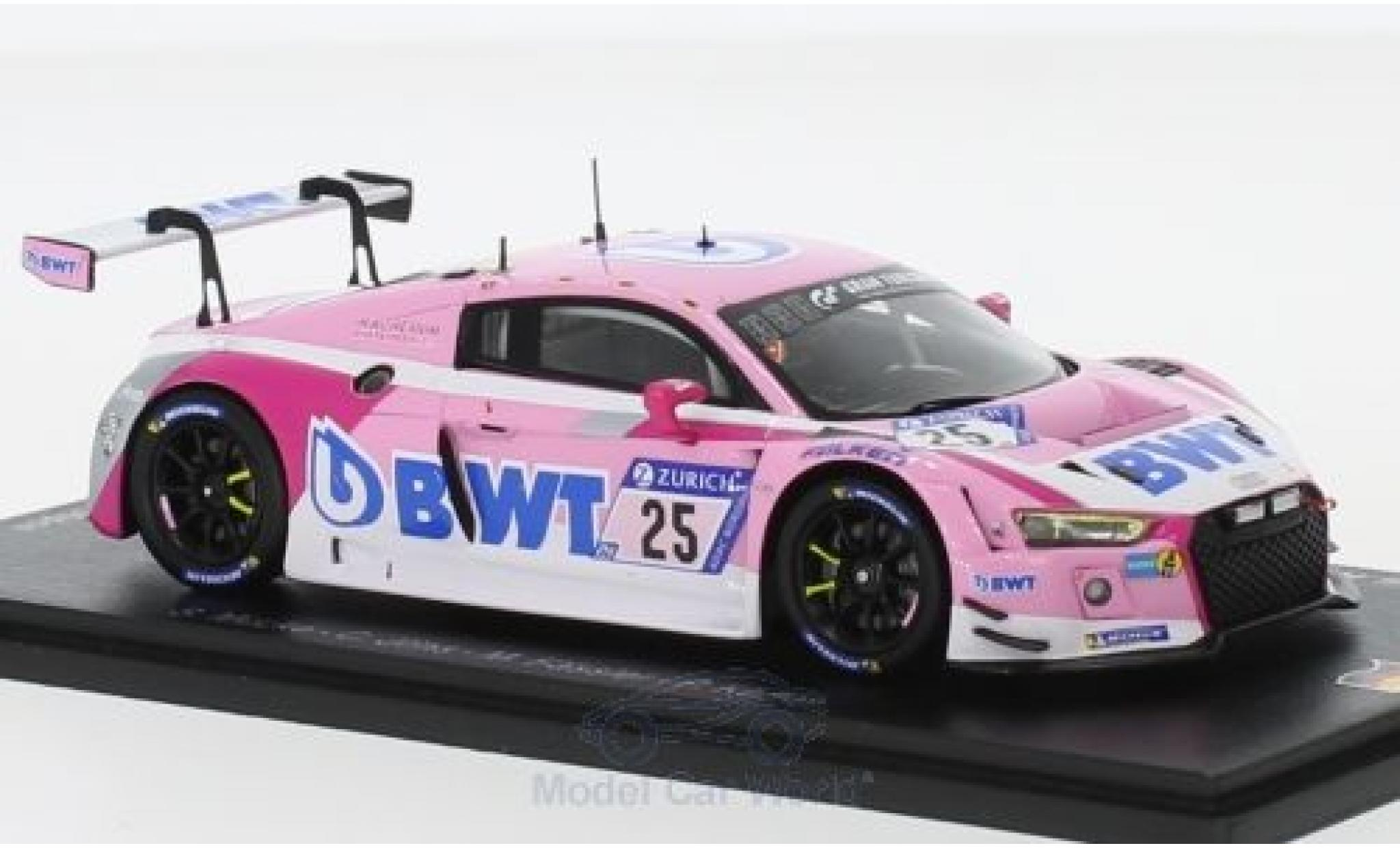 Audi R8 1/43 Spark LMS No.25 Sport Team BWT 24h Nürburgring 2018 S.Mücke/C.Jöns/M.Fässler/P.Kaffer