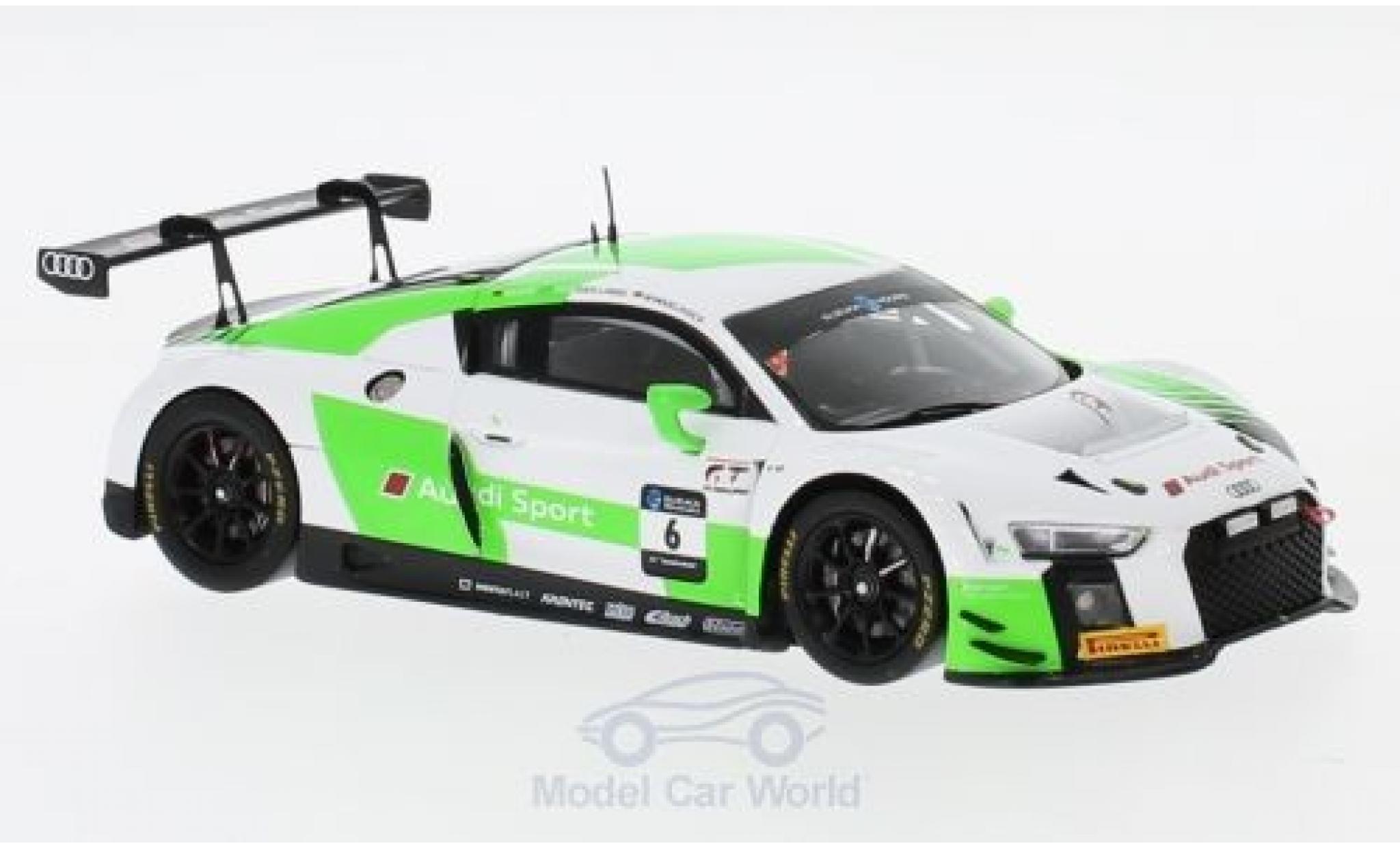 Audi R8 1/43 Spark LMS No.6 Sport Team Absolute Racing 10H Suzuka 2018 C.Haase/M.Winkelhock/K.van der Linde