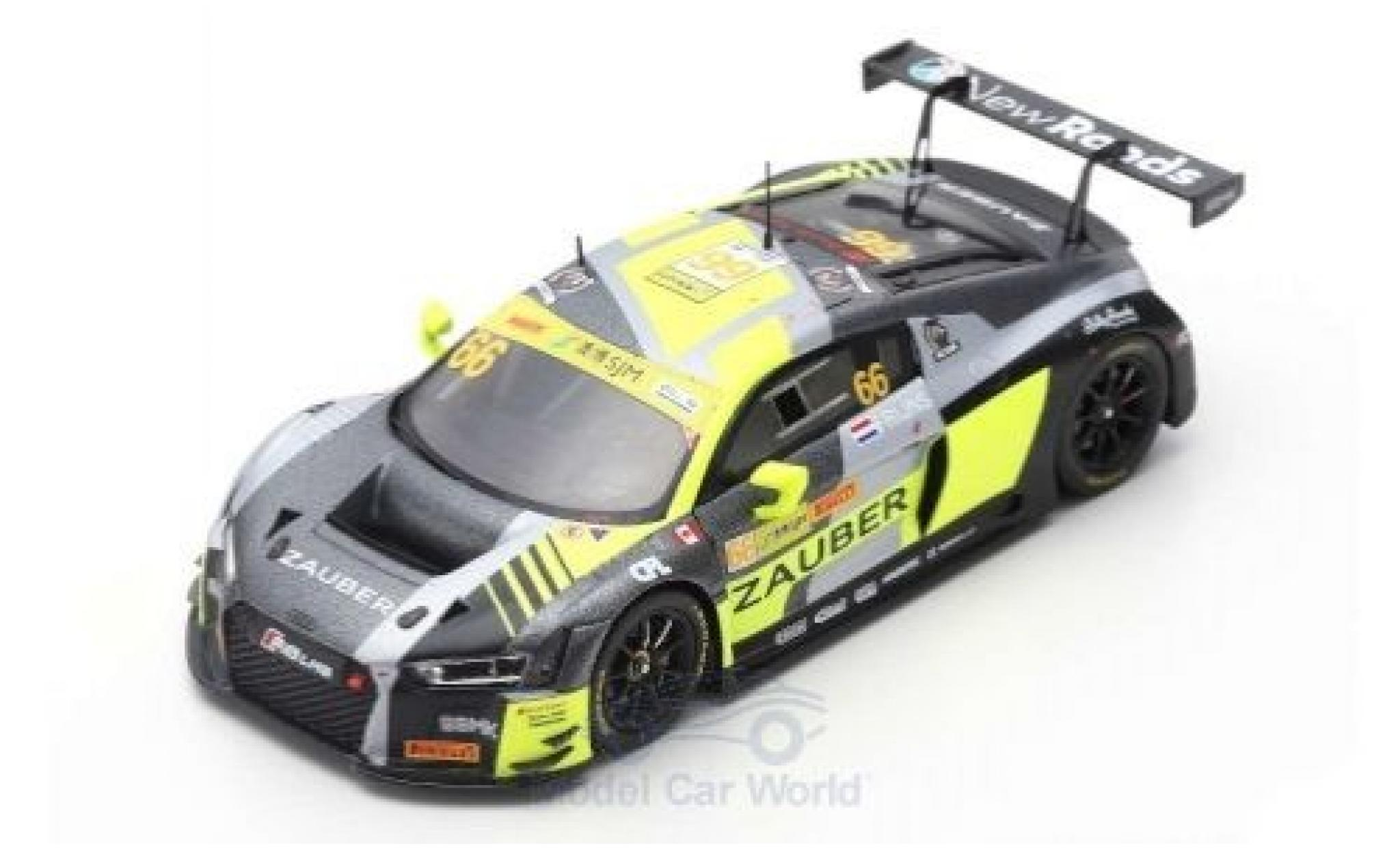 Audi R8 1/43 Spark LMS No.66 Sport Team WRT Speedstar Fia GT World Cup Macau 2018 R.Frijns