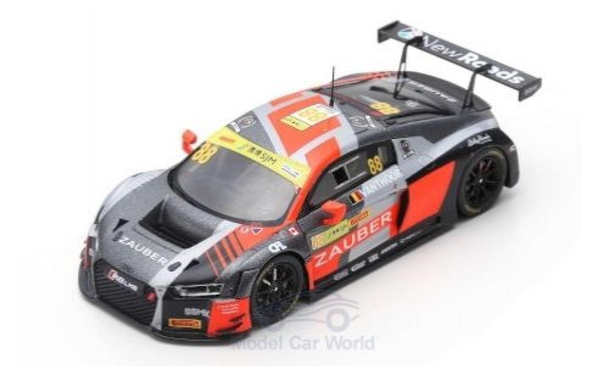 Audi R8 1/43 Spark LMS No.88 Sport Team WRT Speedstar Fia GT World Cup Macau 2018 D.Vanthoor