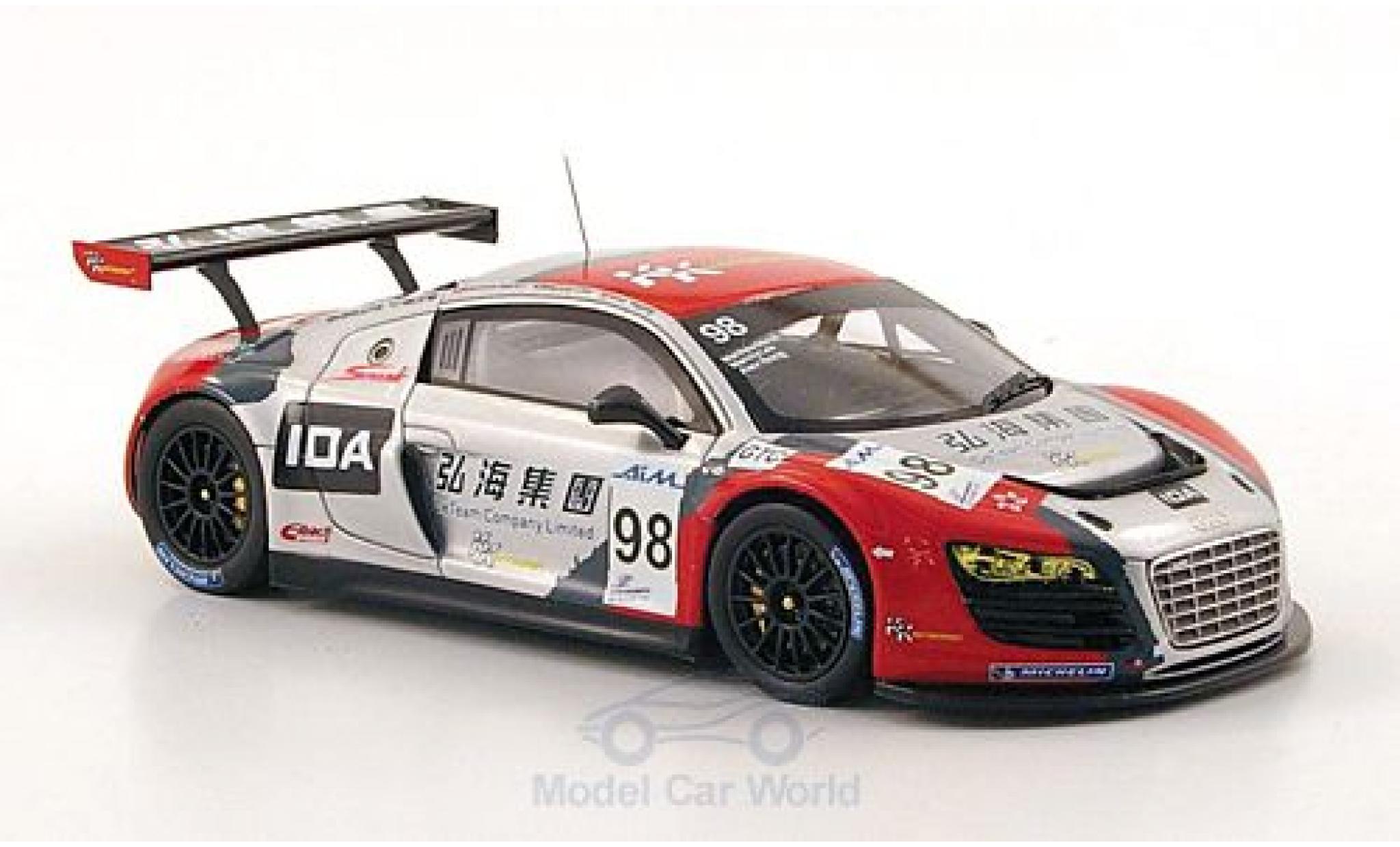 Audi R8 1/43 Spark LMS No.98 KK Performance ILMC 1000km Zhuhai 2010 M.Lee/A.Yoong/M.Marsh