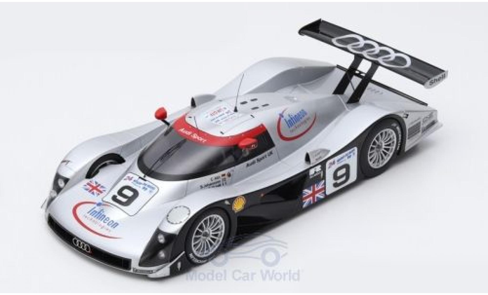 Audi R8 1/43 Spark C No.9 Sport UK 24h Le Mans 1999 S.Johansson/S.Ortelli/C.Abt