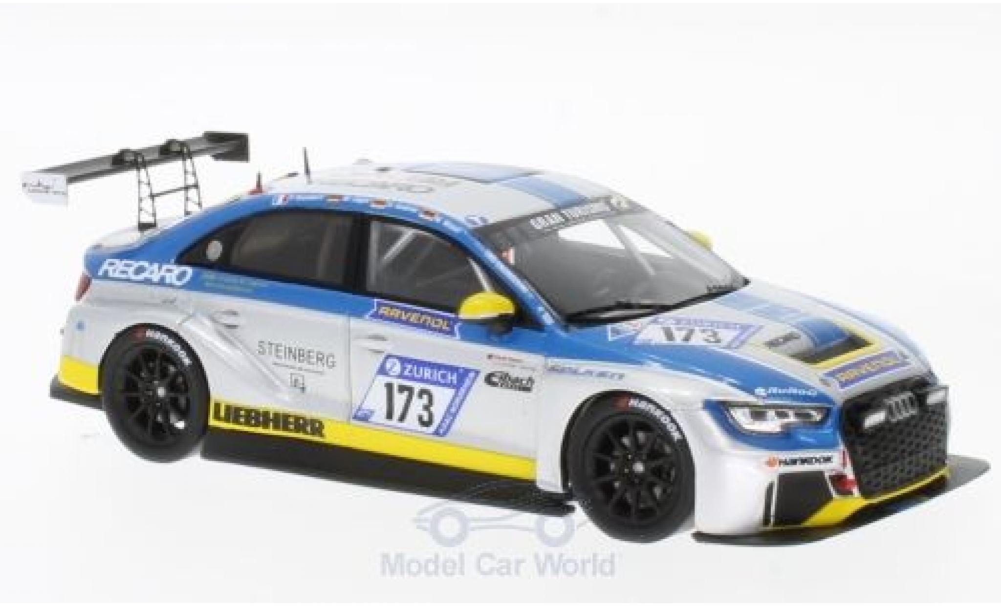 Audi RS3 1/43 Spark LMS DSG No.173 LMS Engineering 24h Nürburgring 2017 U.Andree/M.Jäger/M.Wasel/P.Humbert