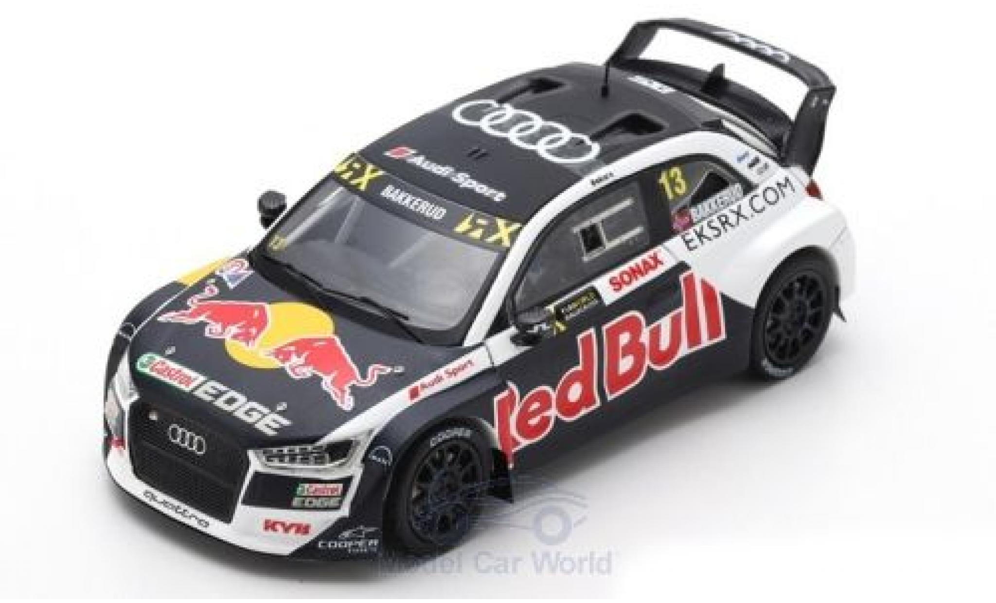 Audi S1 1/43 Spark EKS RX quattro No.13 EKS Sport Red Bull World RX Großbritannien 2018 A.Bakkerud