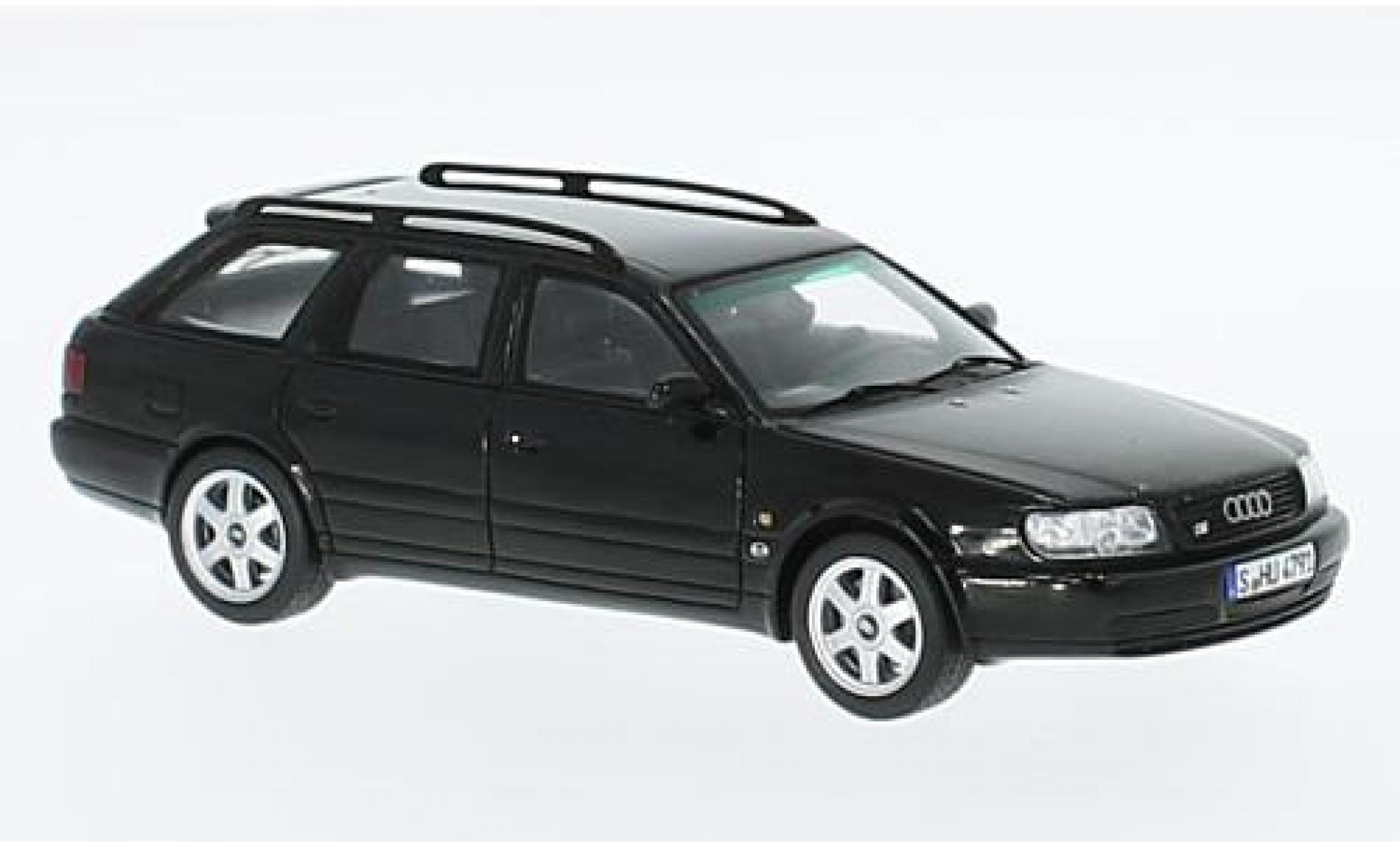 Audi S6 1/43 Spark Plus Avant noire 1996