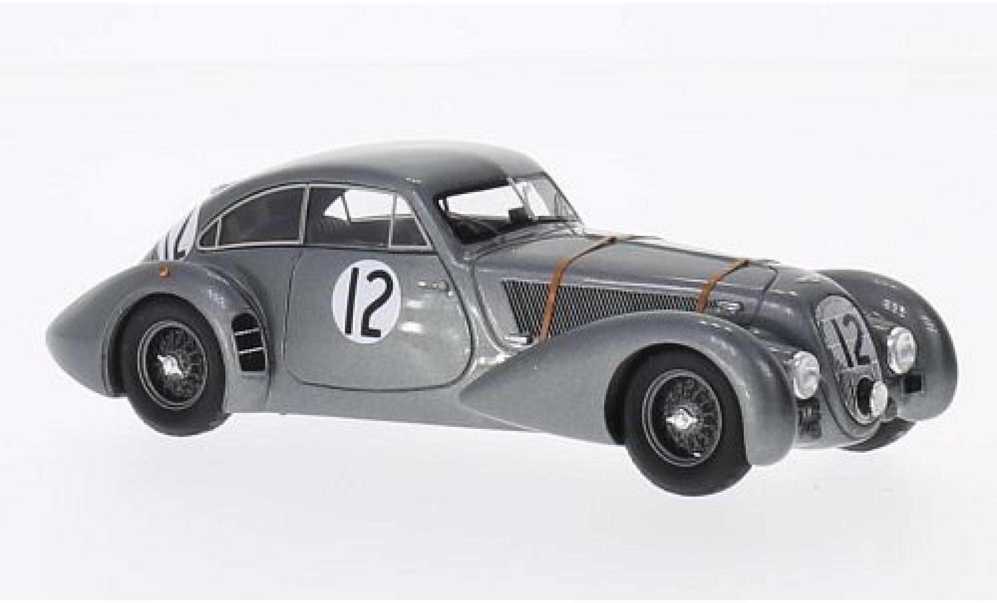 Bentley Corniche 1/43 Spark No.12 24h Le Mans 1950 Soltan-Hay/H.Hunter