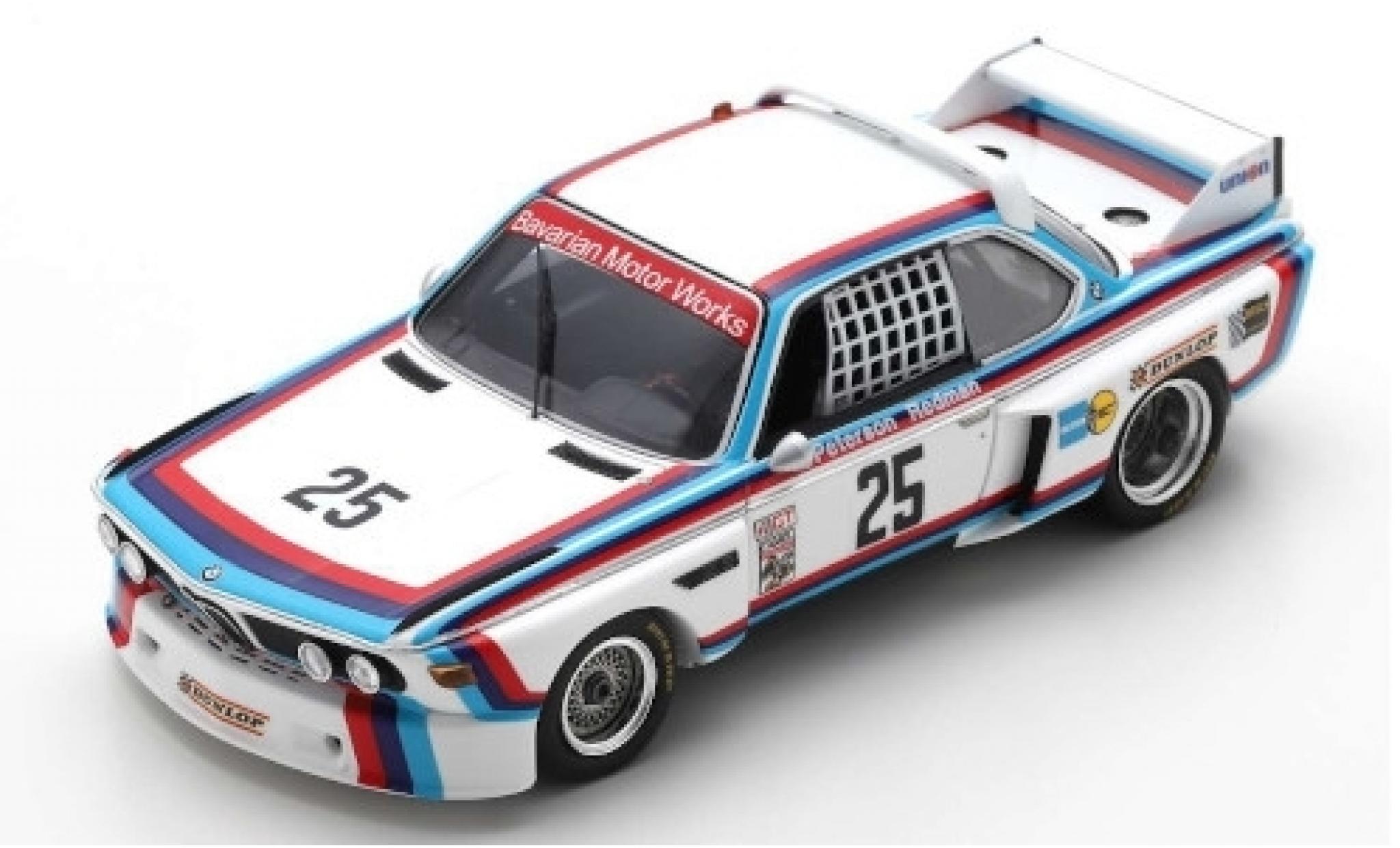 Bmw 3.0 1/43 Spark CSL No.25 Motorsport 12h Sebring 1975 B.Redman/A.Moffat/S.Posey/H-J.Stuck