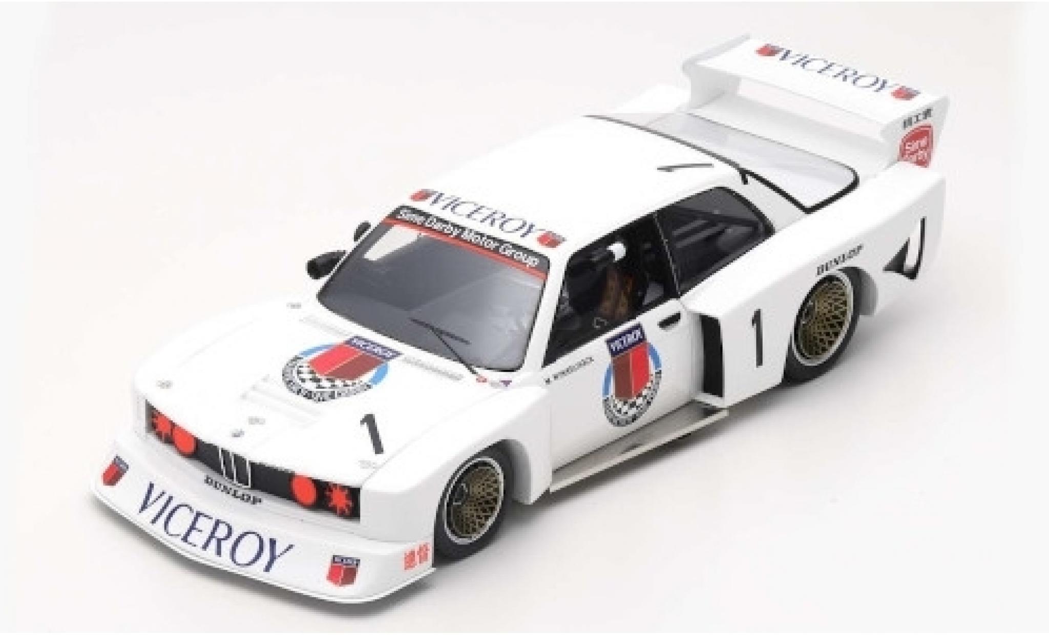 Bmw 320 1/18 Spark Gr.5 No.1 Macau Guia Race 1981 M.Winkelhock