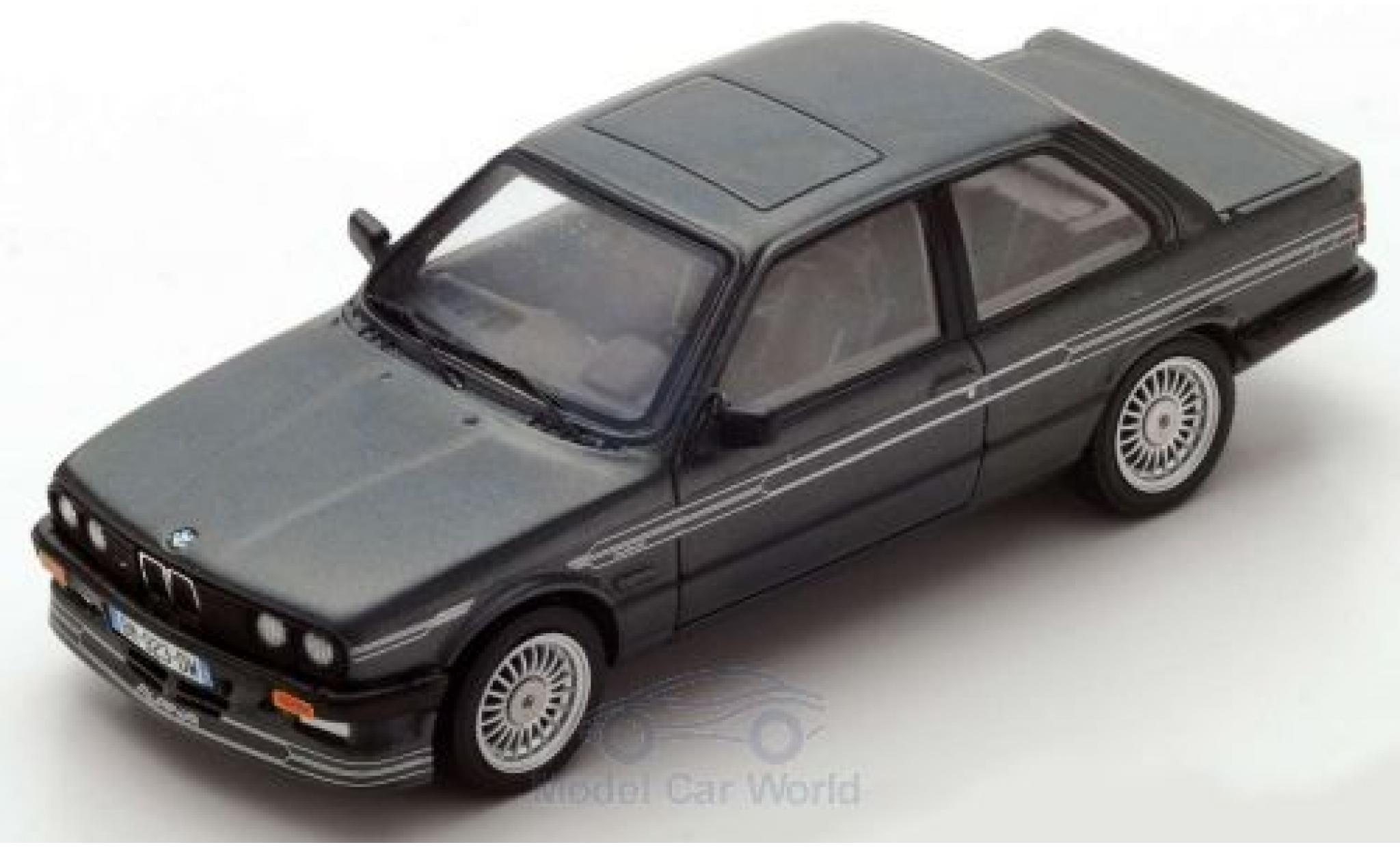 Bmw Alpina 1/43 Spark B6 3.5 (E30) metallise grise 1986