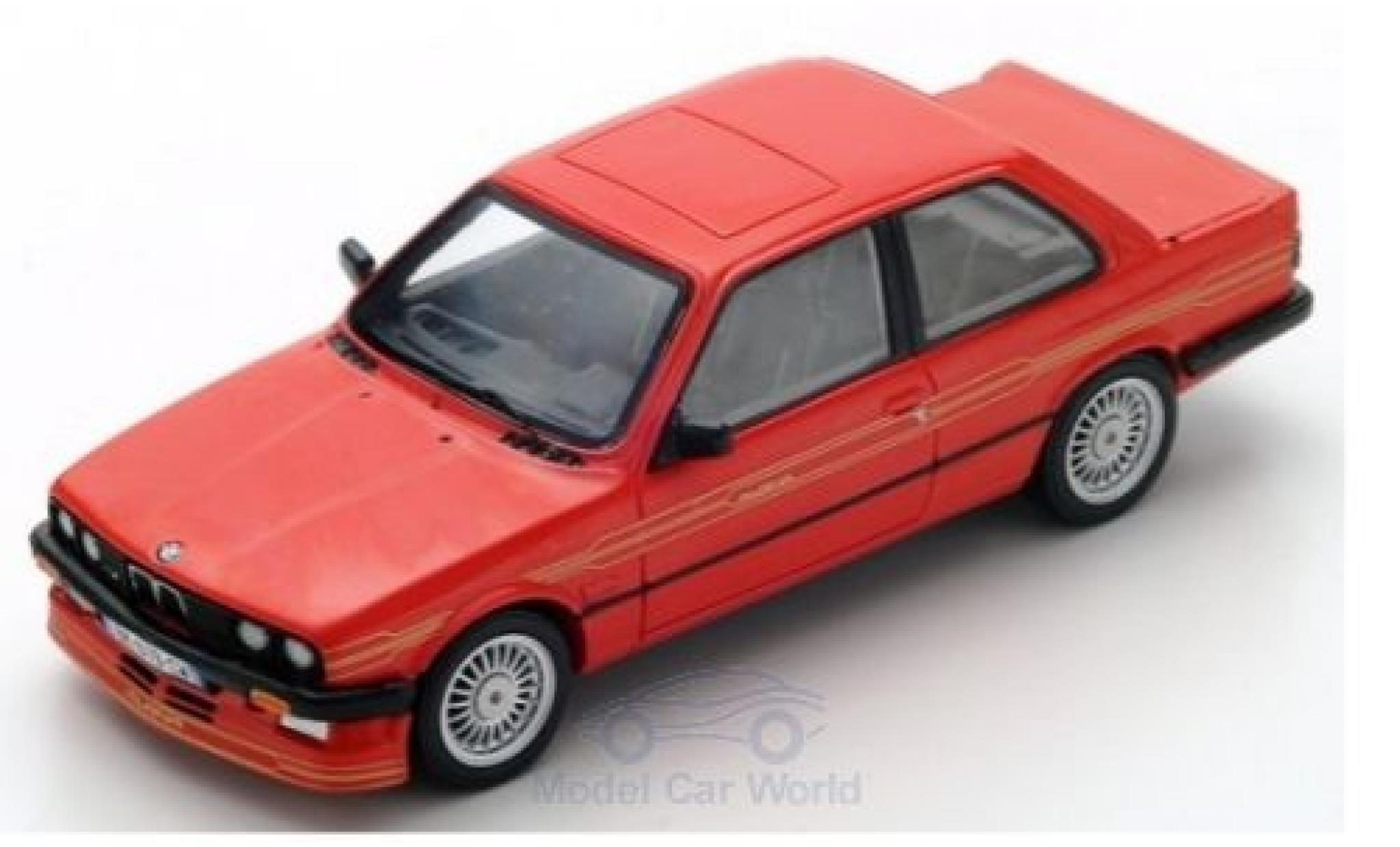 Bmw Alpina 1/43 Spark B6 3.5 (E30) rouge 1988