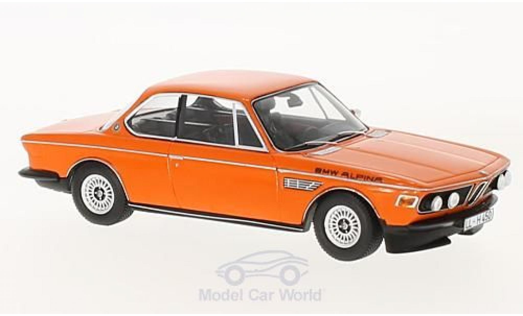 Bmw Alpina 1/43 Spark BMW CSL (E9) orange