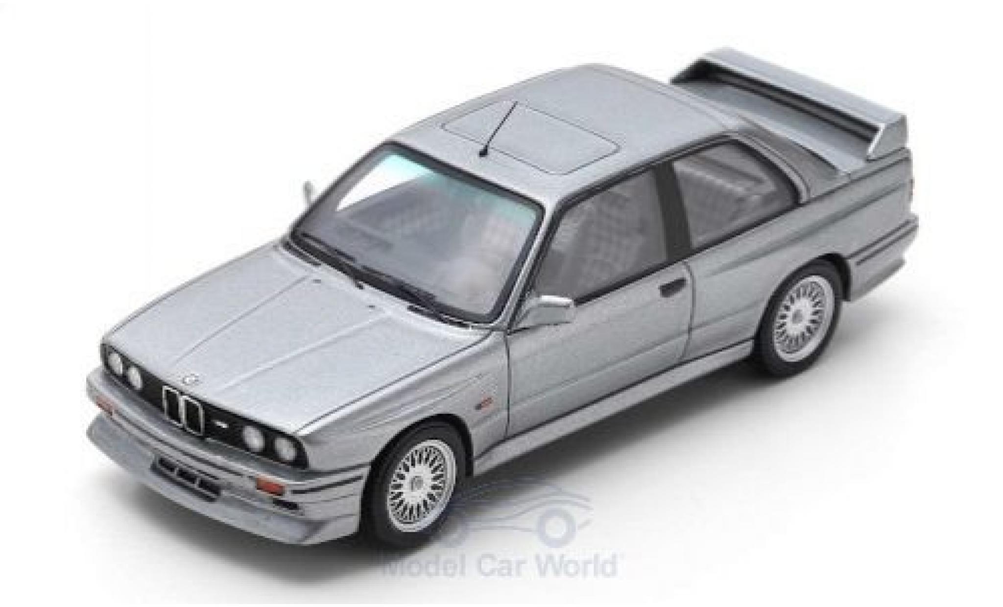 Bmw M3 1/43 Spark (E30) EVO 2 metallic grey 1988