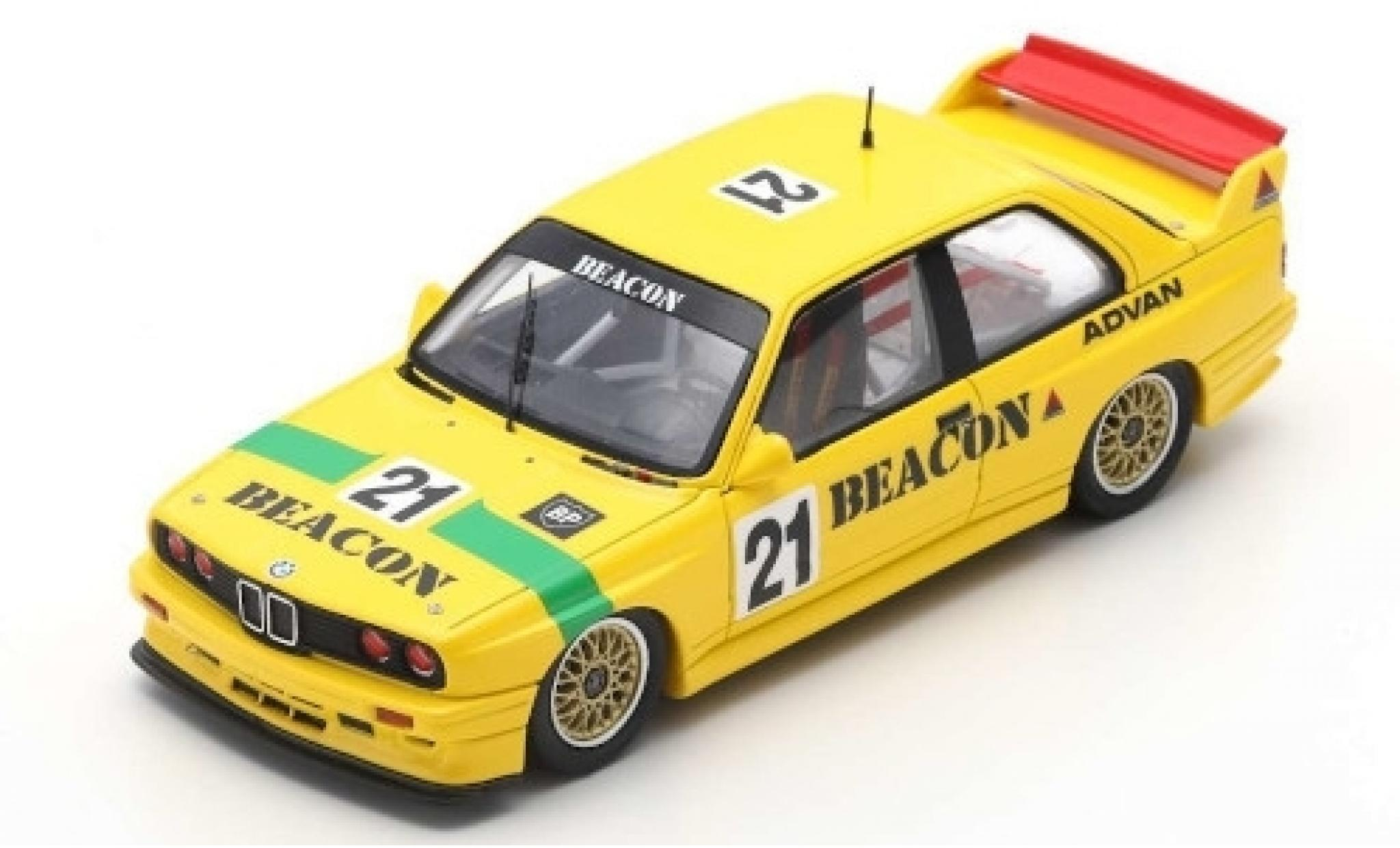 Bmw M3 1/43 Spark (E30) Evo No.21 Thunderbolt Macau Guia Race 1995