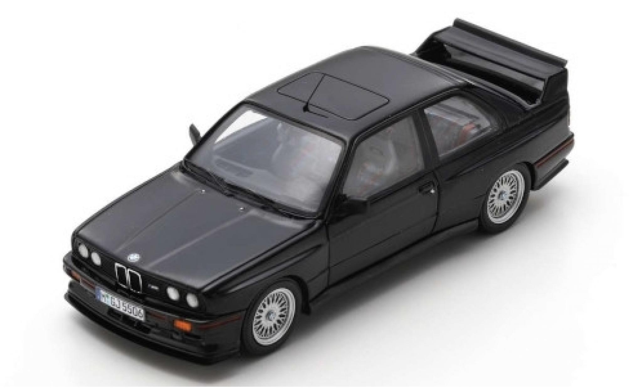Bmw M3 1/43 Spark (E30) Sport Evolution negro 1990