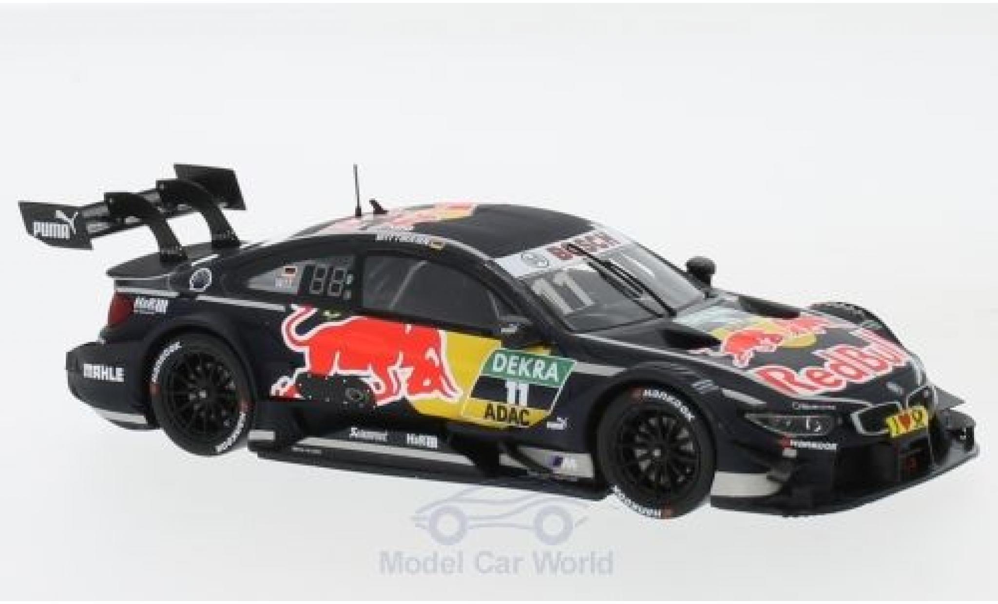 Bmw M4 1/43 Spark DTM No.11 Team RMG Red Bull DTM Hockenheim 2017 M.Wittmann