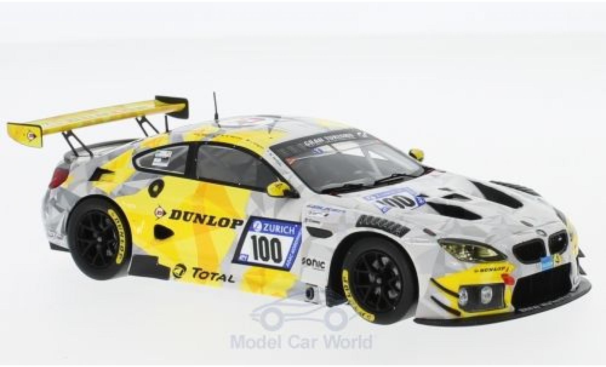 Bmw M6 1/43 Spark BMW GT3 No.100 Walkenhorst Motorsport 24h Nürburgring 2017 C.Krognes/M.Di Martino/M.Henkola/N.Menzel