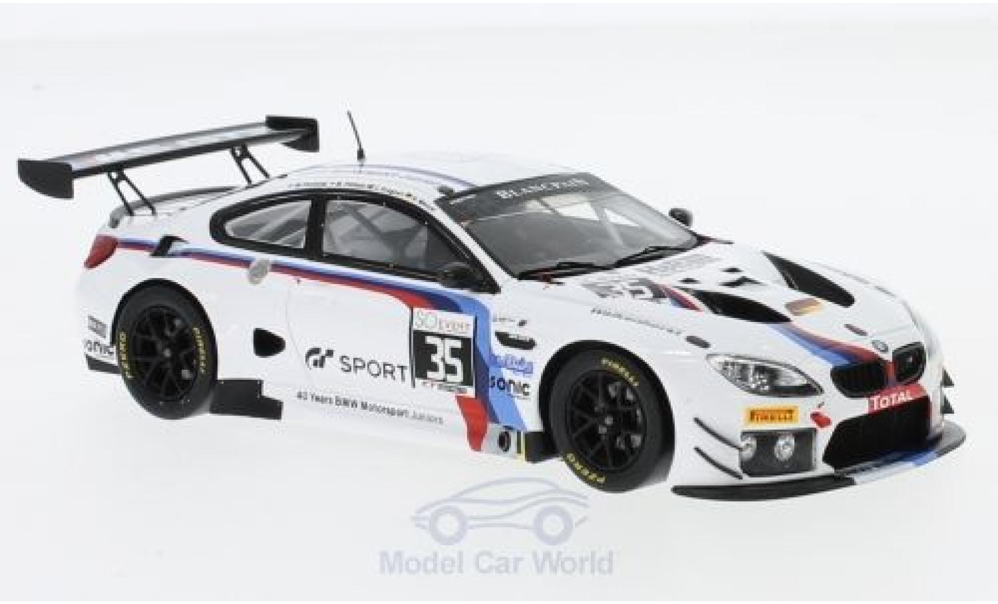 Bmw M6 1/43 Spark BMW GT3 No.35 Walkenhorst Motorsport 24h Spa 2017 M.Palttala/C.Krognes/N.Menzel/M.Henkola