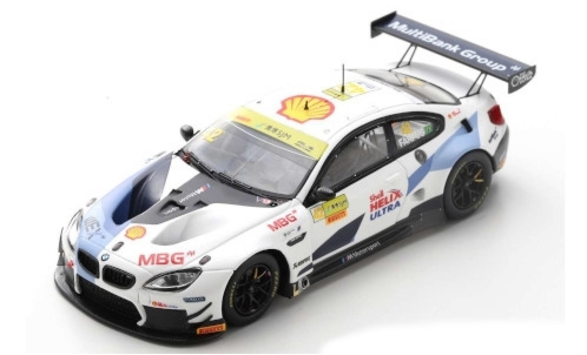 Bmw M6 1/43 Spark GT3 No.42 Team Schnitzer Fia GT World Cup Macau 2019 A.Farfus