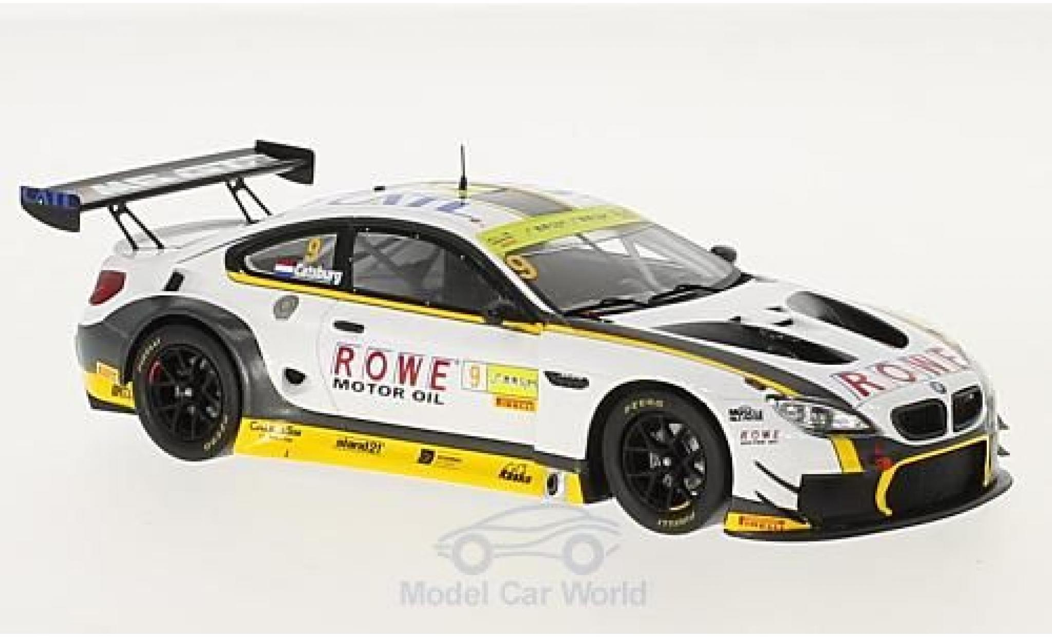 Bmw M6 1/43 Spark GT3 No.9 Rowe Racing GT Cup Macau 2016 N.Catsburg