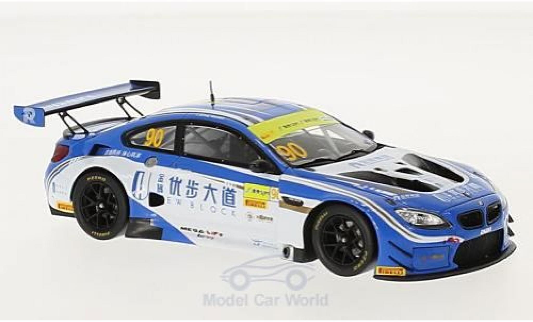 Bmw M6 1/43 Spark BMW GT3 No.90 FIST Team AAI Fia GT World Cup Macau 2017 C.Mostert