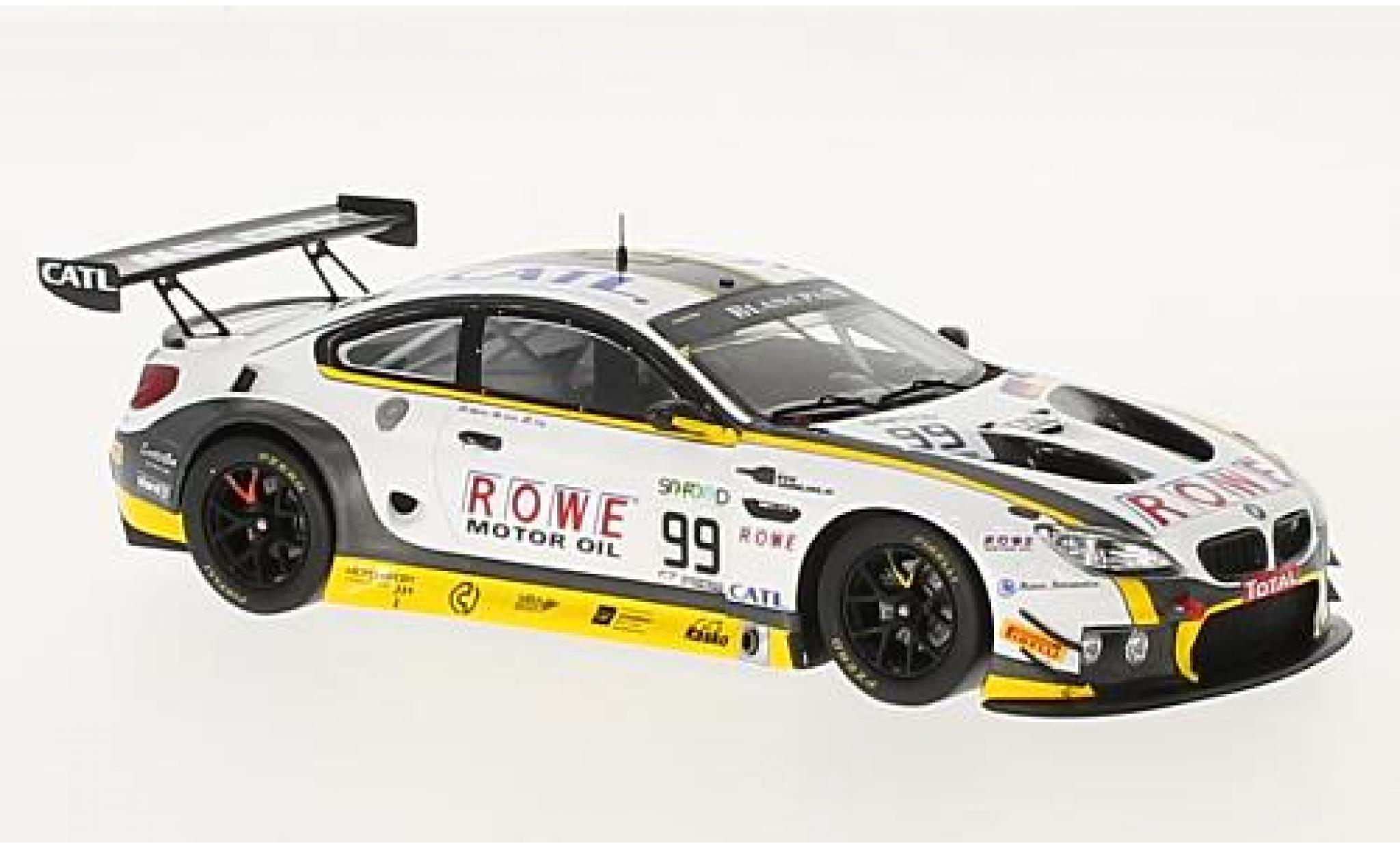 Bmw M6 1/43 Spark GT3 No.99 Rowe Racing 24h Spa 2017 P.Eng/M.Martin/A.Sims