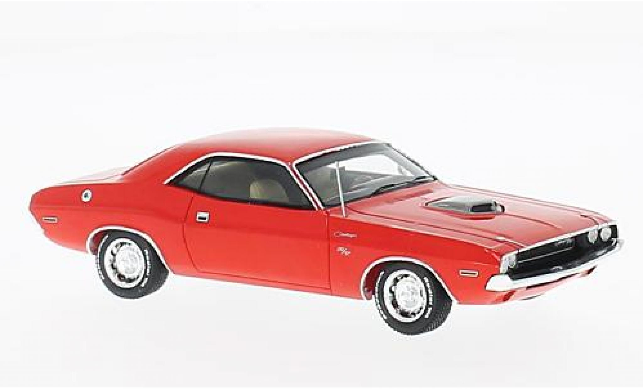 Dodge Challenger 1/43 Spark R/T 426 HEMI red 1970
