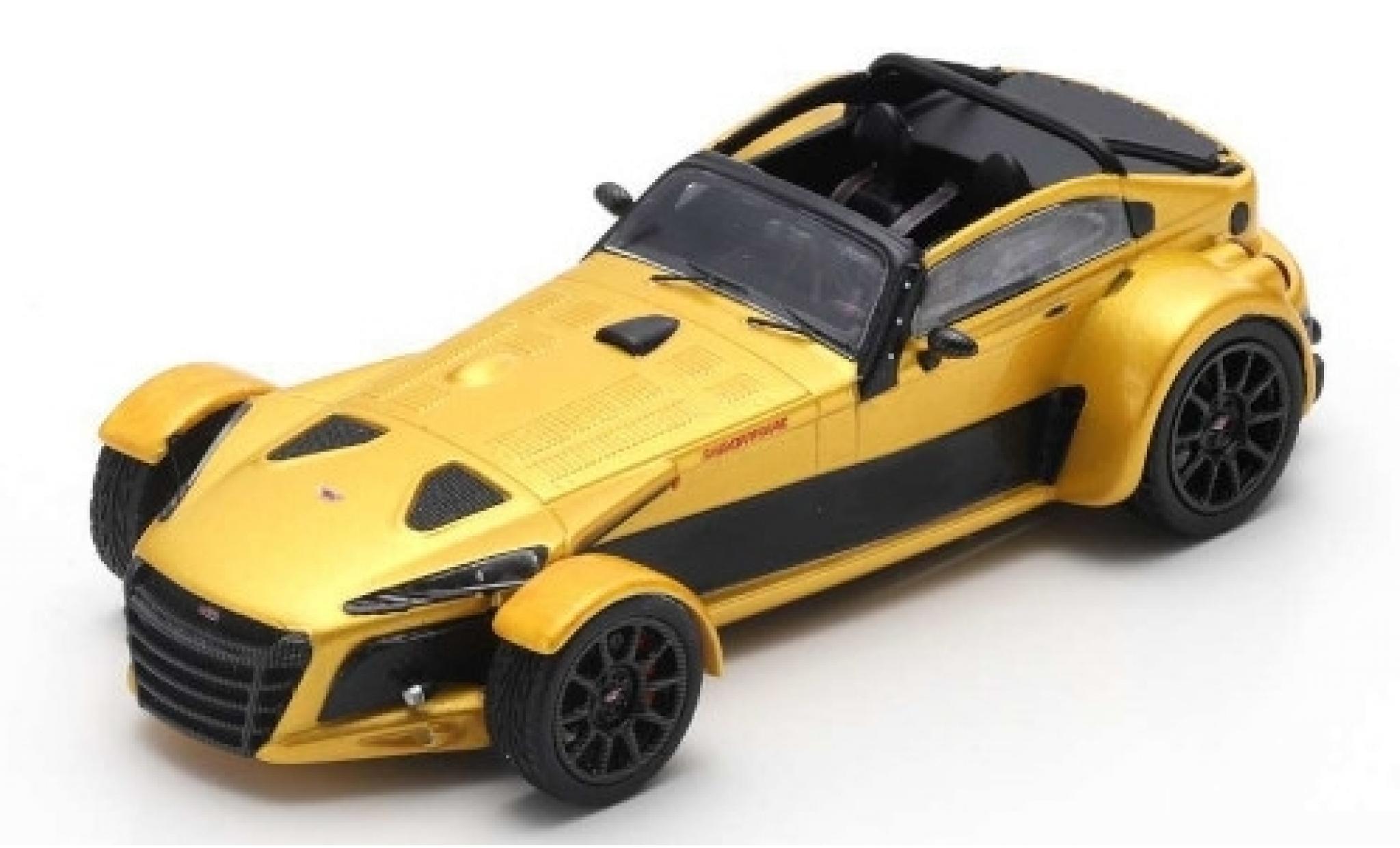 Donkervoort D8 1/43 Spark GTO-40 gold 2018