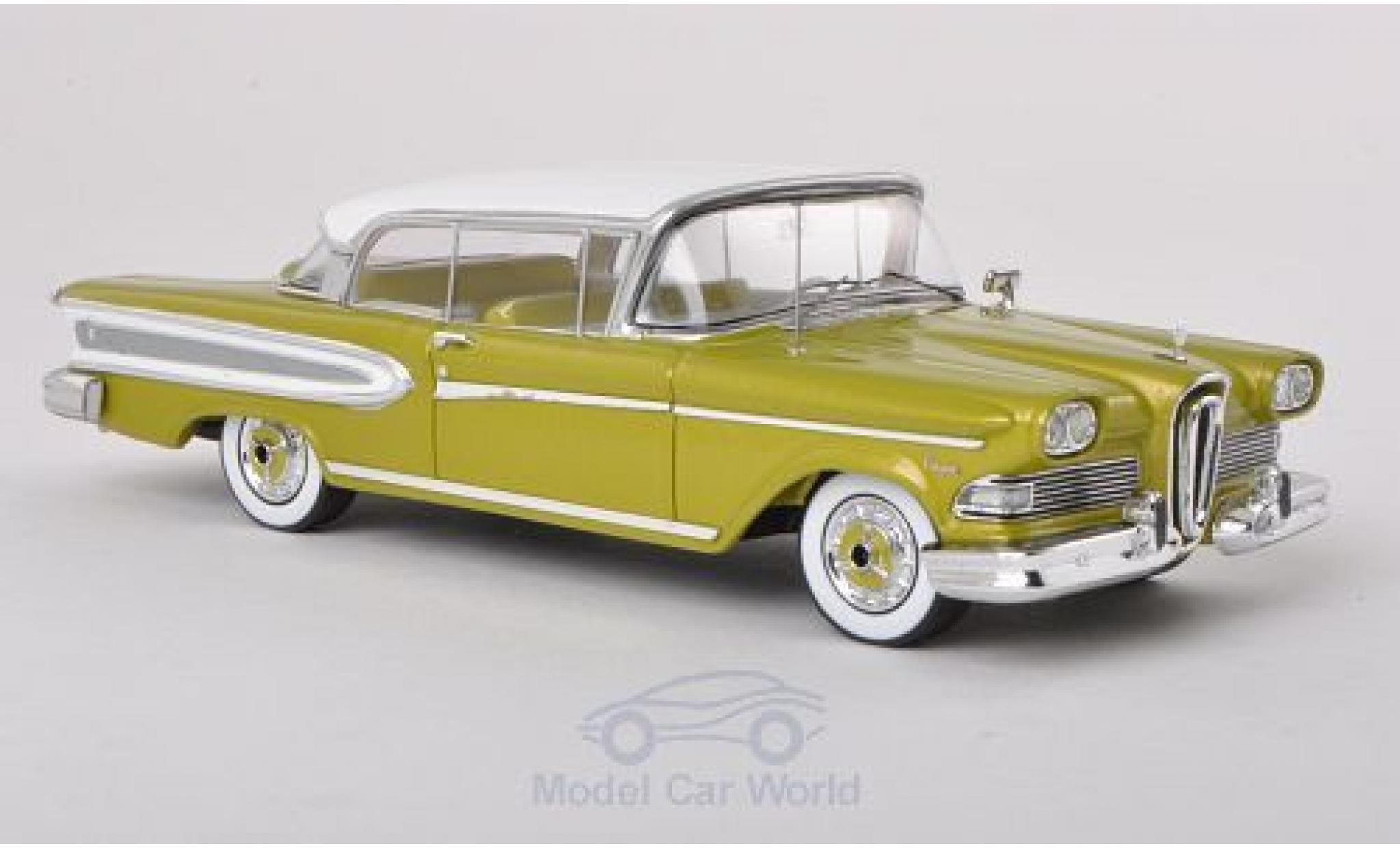 Edsel Citation 1/43 Spark 2-Door Hardtop Coupe metallise verte/blanche 1958