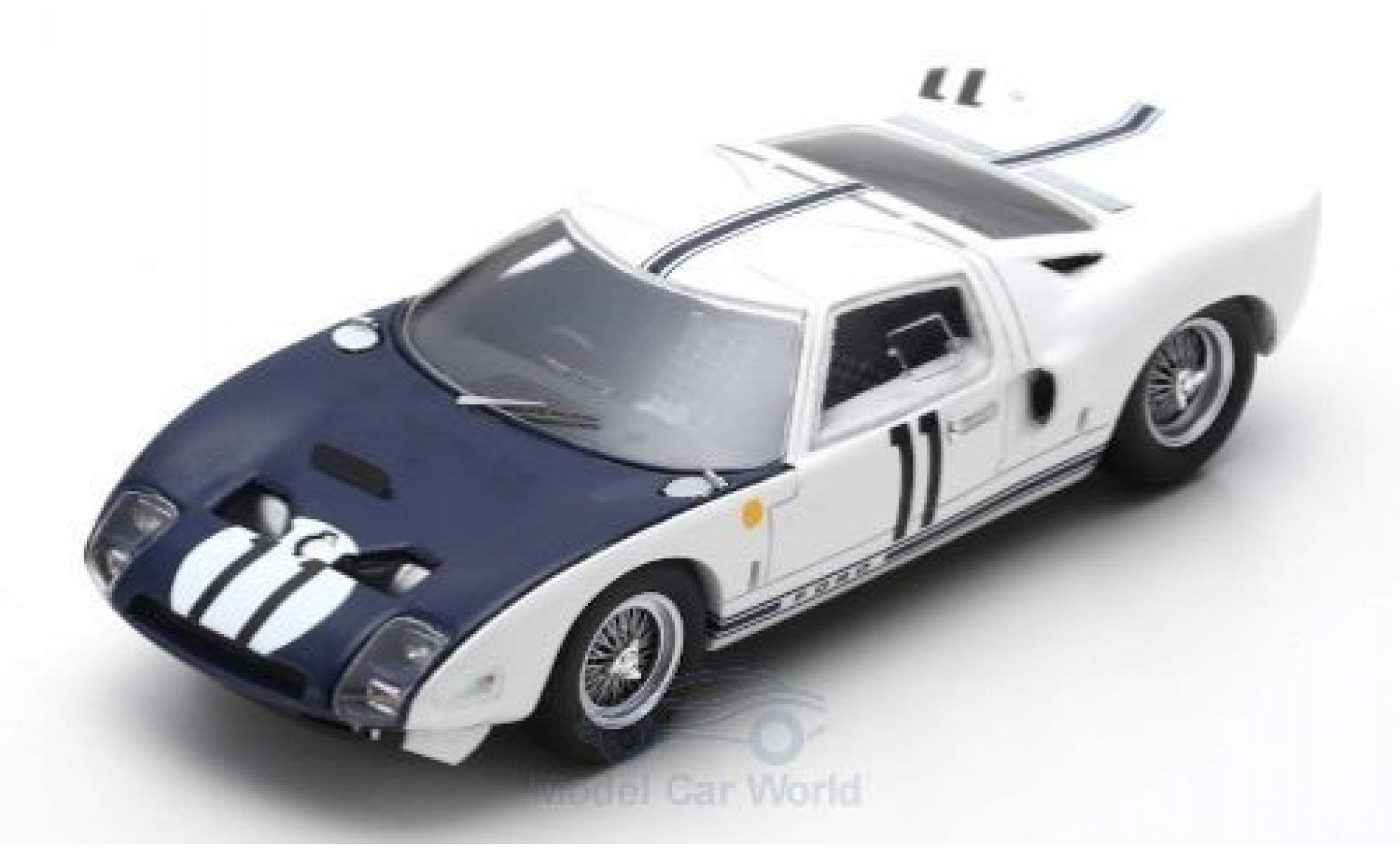 Ford GT 1/43 Spark RHD No.11 24h Le Mans 1964 R.Ginther/M.Gregory