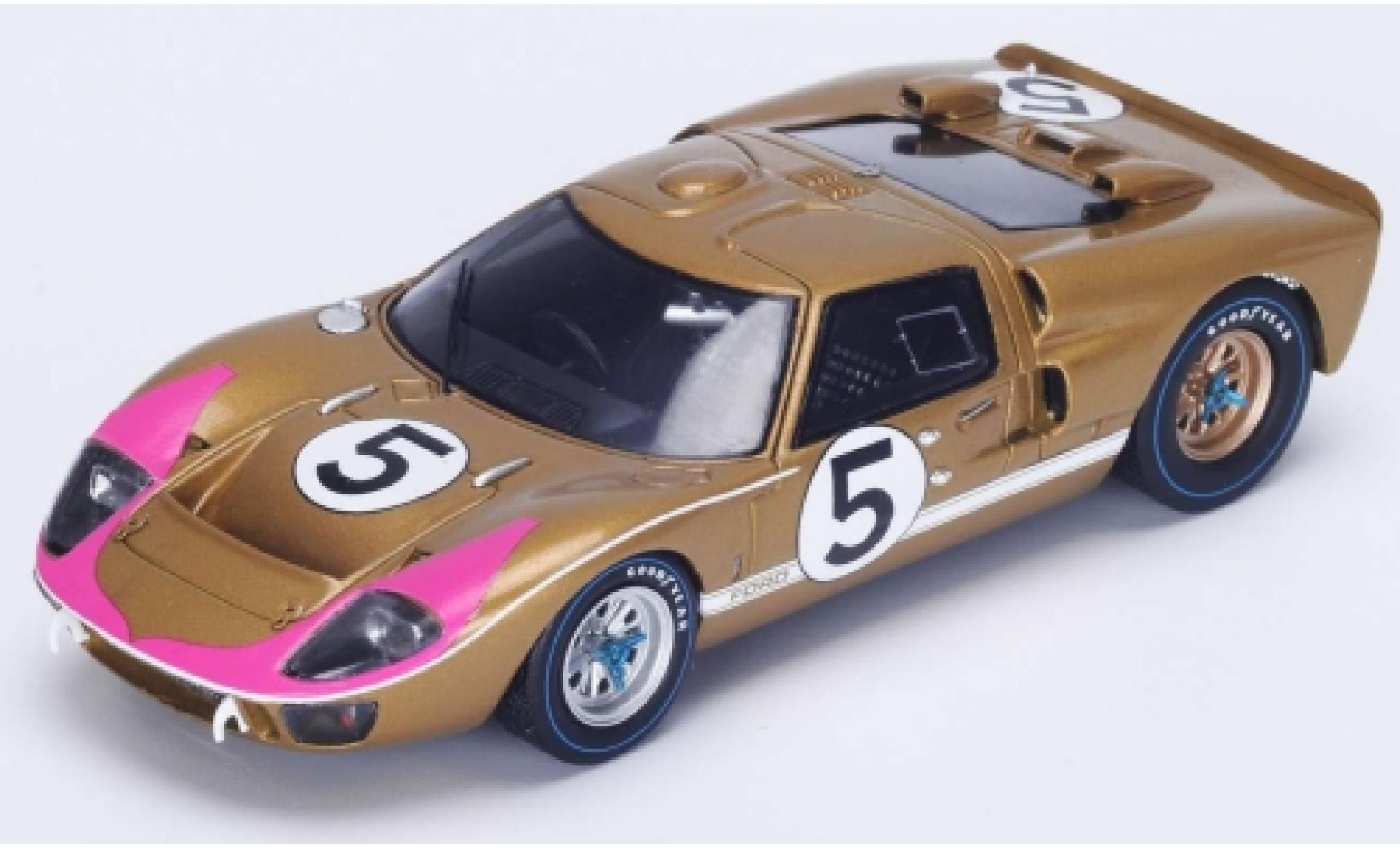 Ford GT40 1/18 Spark MkII No.5 24h Le Mans 1966 R.Bucknum/D.Hutcherson