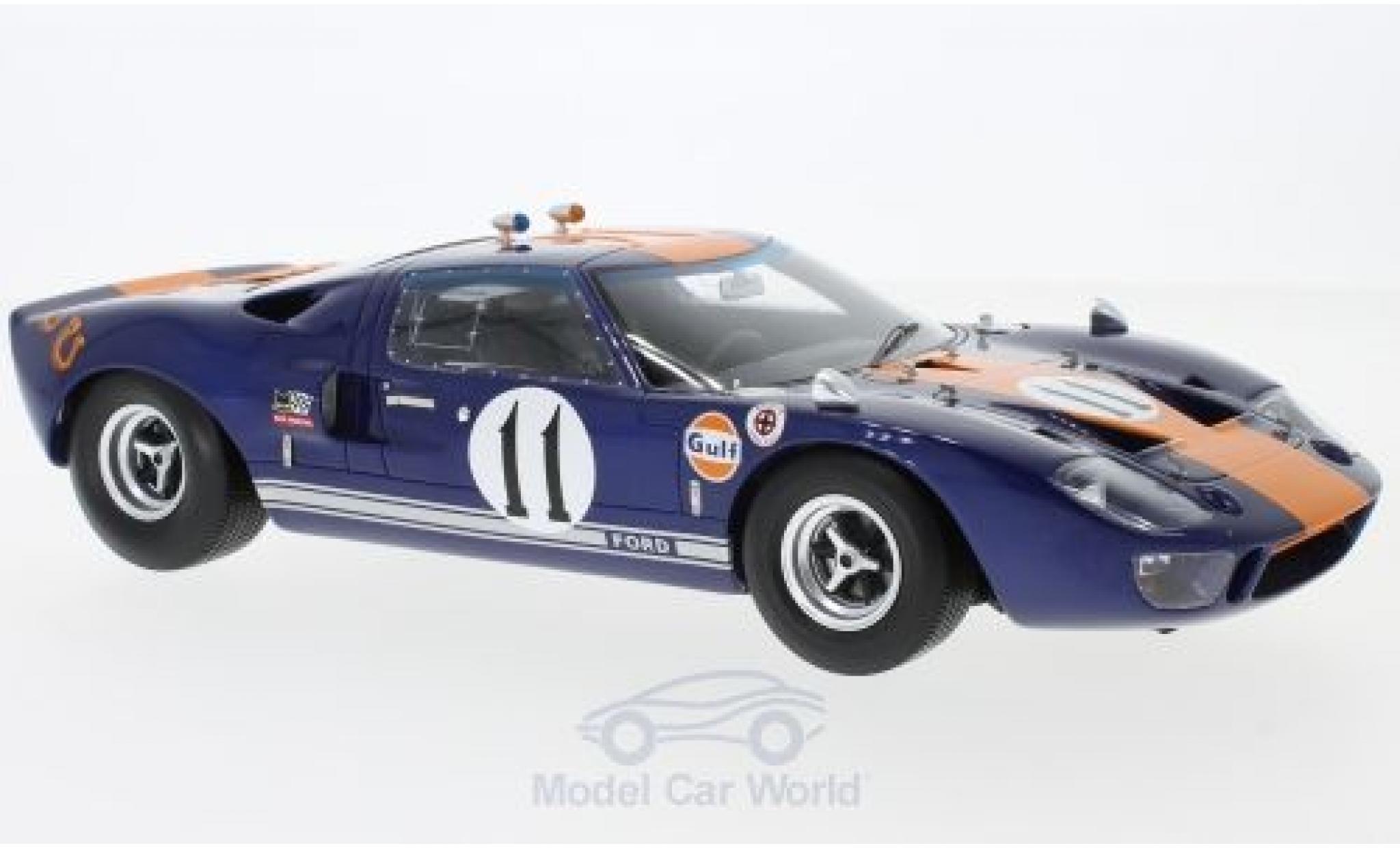 Ford GT 1/18 Spark 40 No.11 24h Daytona 1967 J.Ickx/D.Thompson