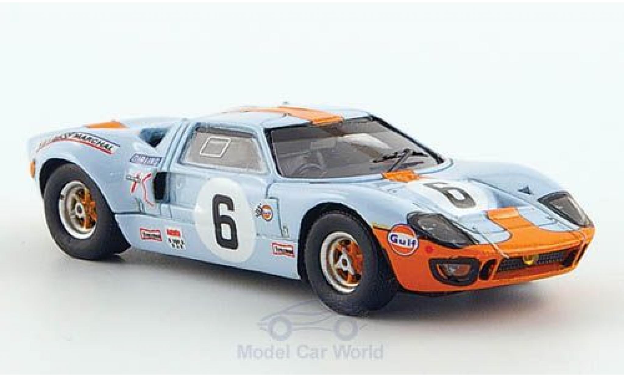 Ford GT40 1/87 Spark No.6 24h Le Mans 1969 J.Ickx/J.Oliver