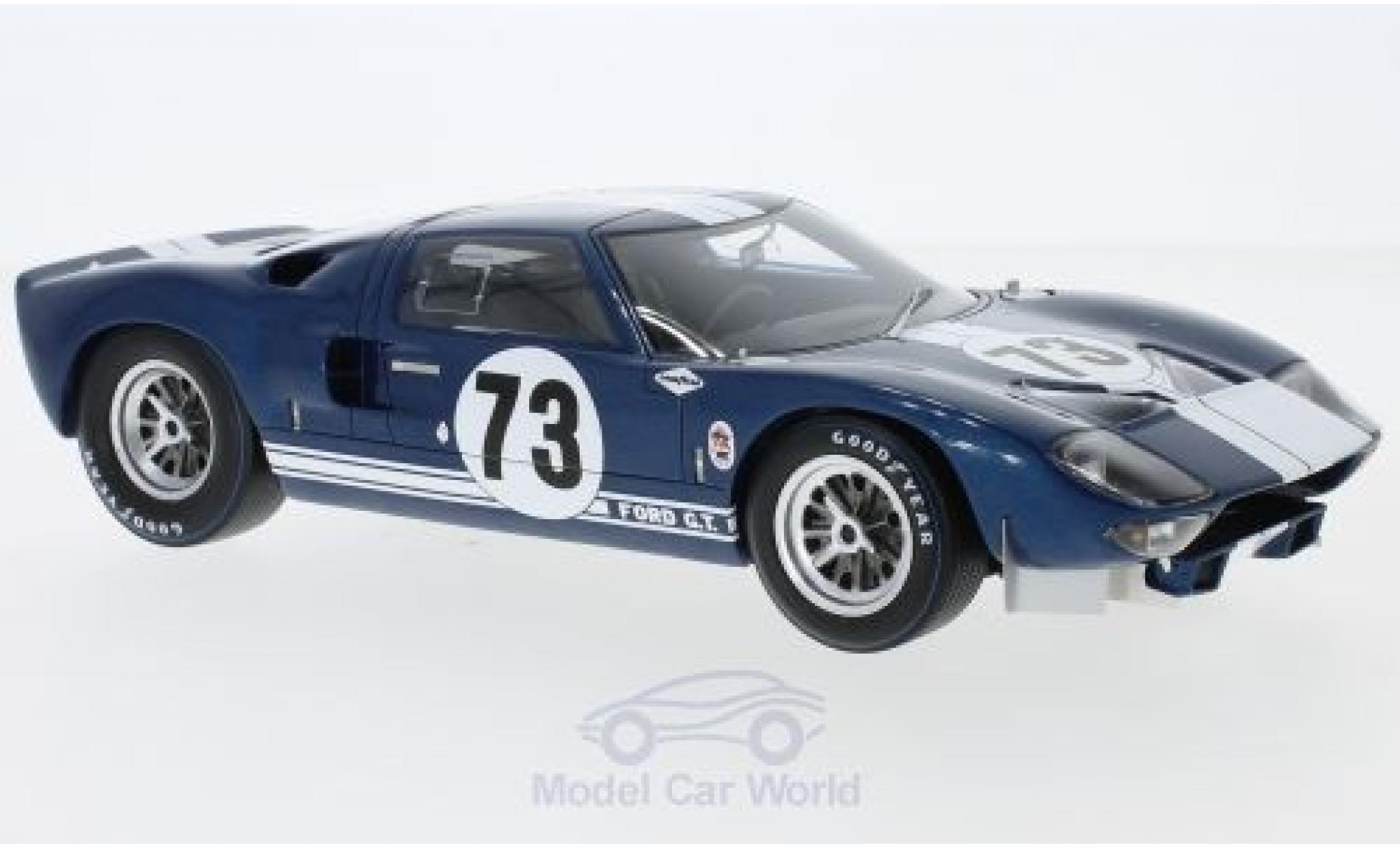 Ford GT 40 1/18 Spark 40 No.73 2000 Km. Daytona 1965 K.Miles/L.Ruby