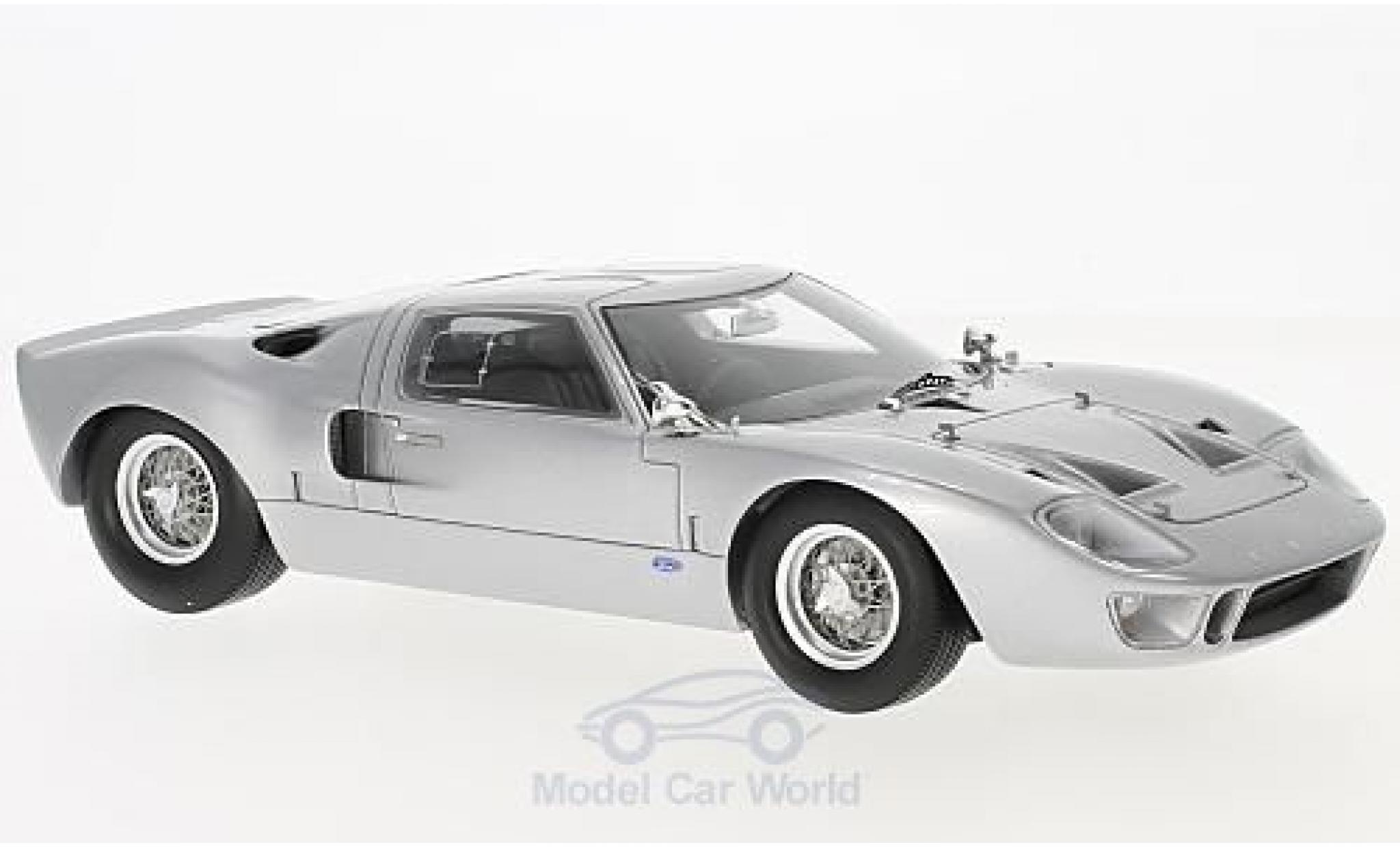 Ford GT 40 1/18 Spark 40 grise 1966