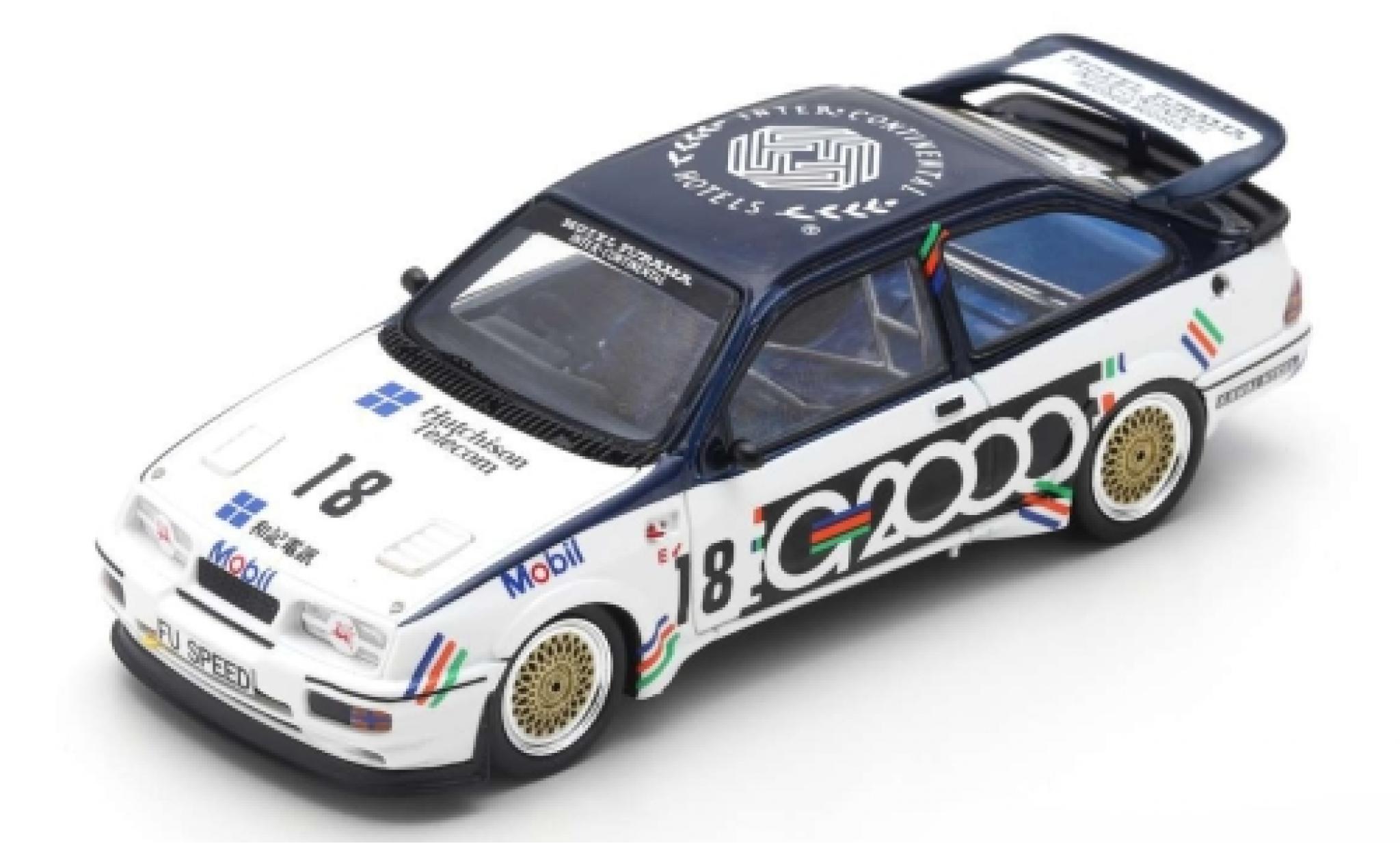Ford Sierra 1/43 Spark RS500 Cosworth RHD No.18 G2000 Macau Guia Race 1988 A.Rouse