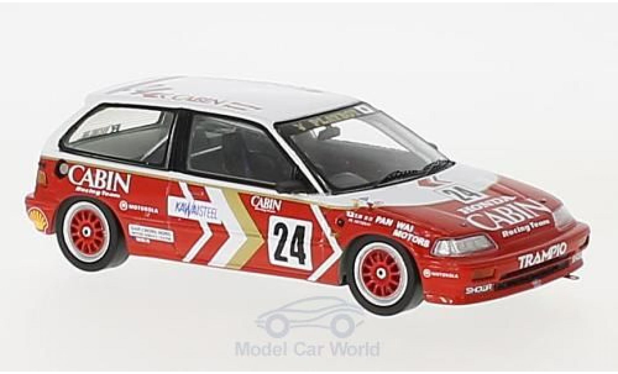 Honda Civic 1/43 Spark EF3 RHD No.24 Macau Guia Race 1989 M.Miyoshi