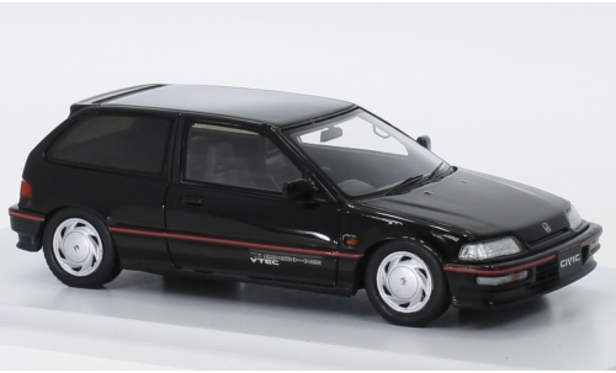 Honda Civic 1/43 Spark (EF9) SiR black RHD 1990