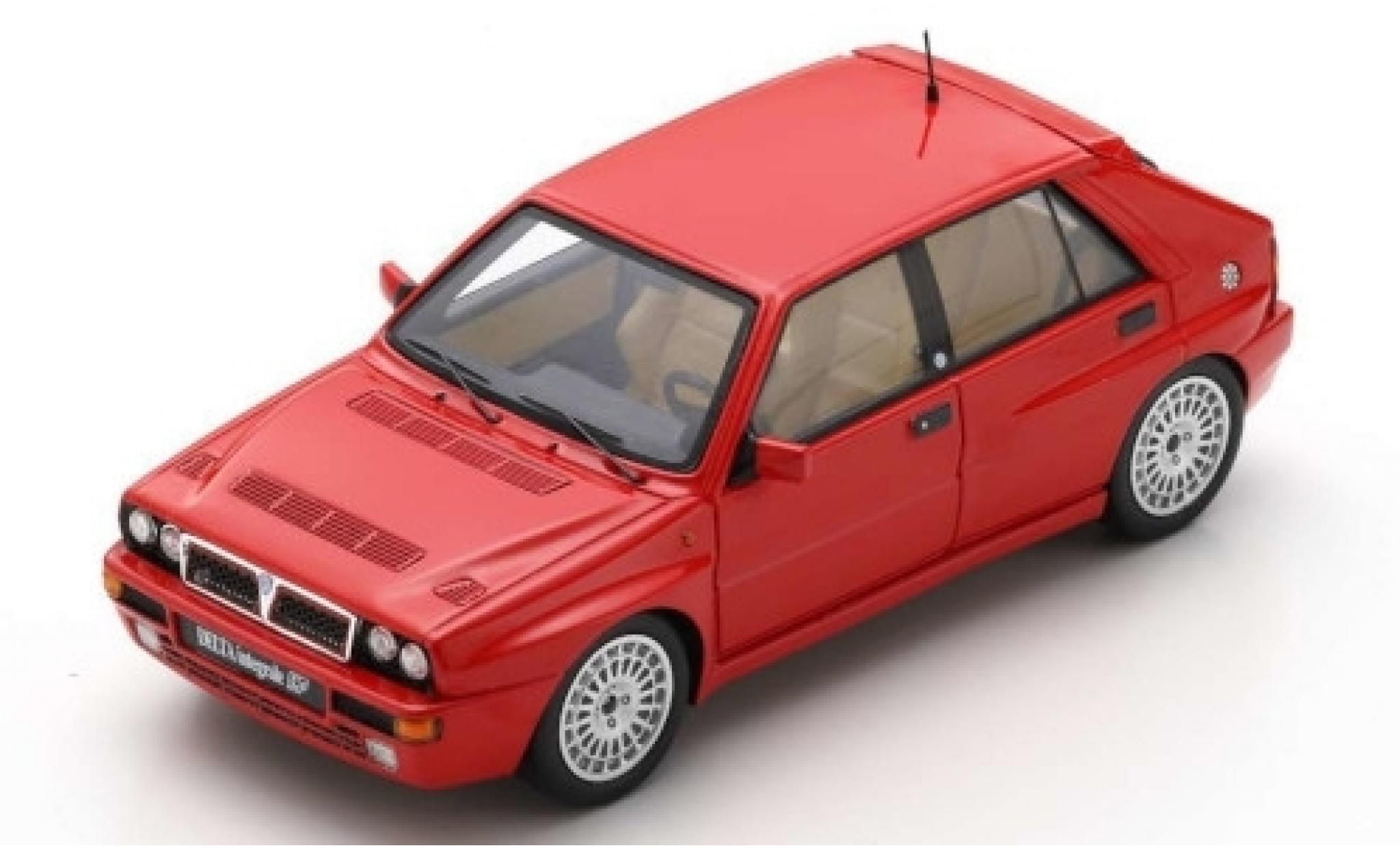 Lancia Delta 1/43 Spark HF Integrale Evoluzione 2 rojo 1993